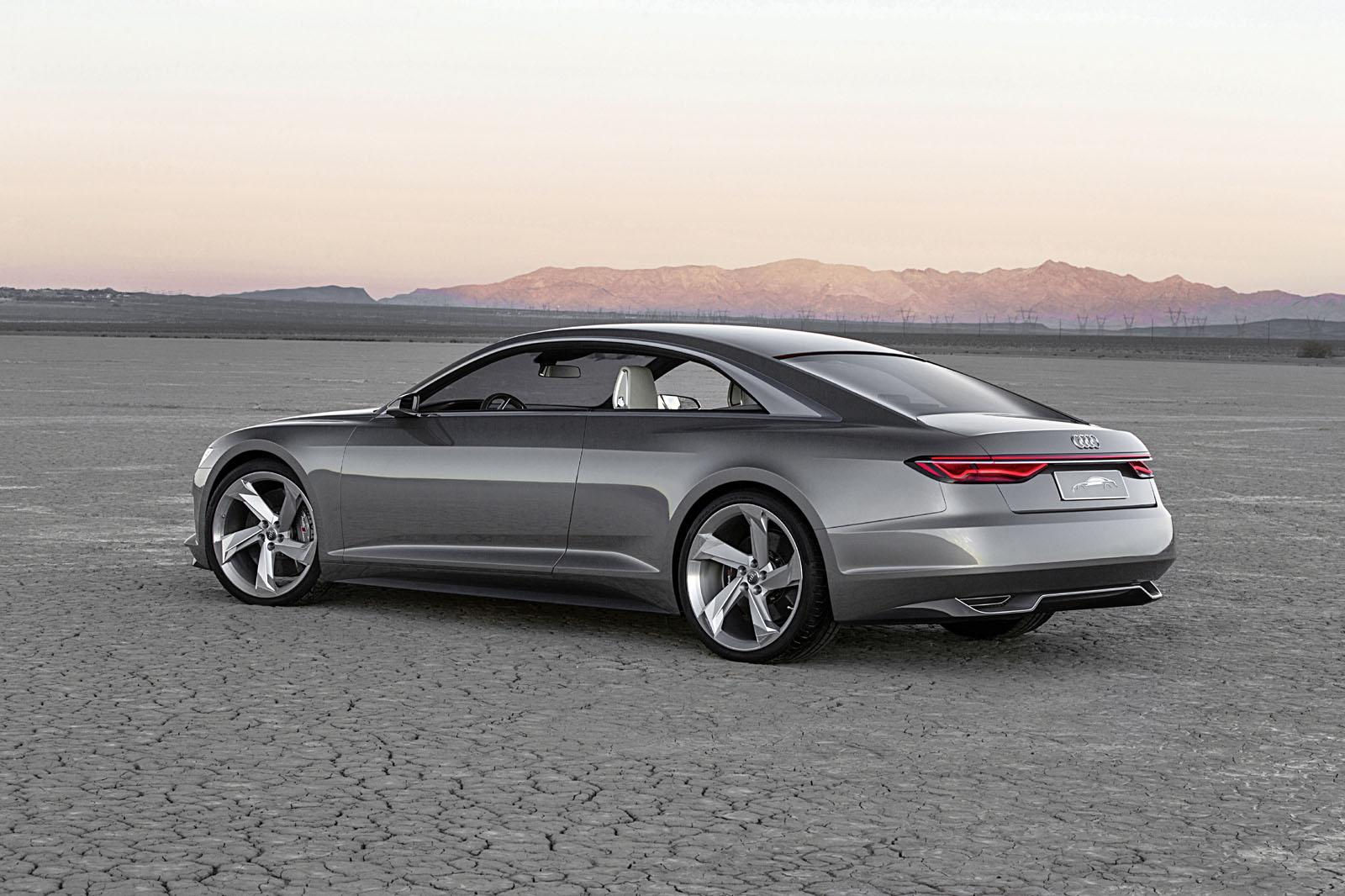audi prologue gets hybrid v8 system and piloted driving tech for ces 2015 autoevolution. Black Bedroom Furniture Sets. Home Design Ideas