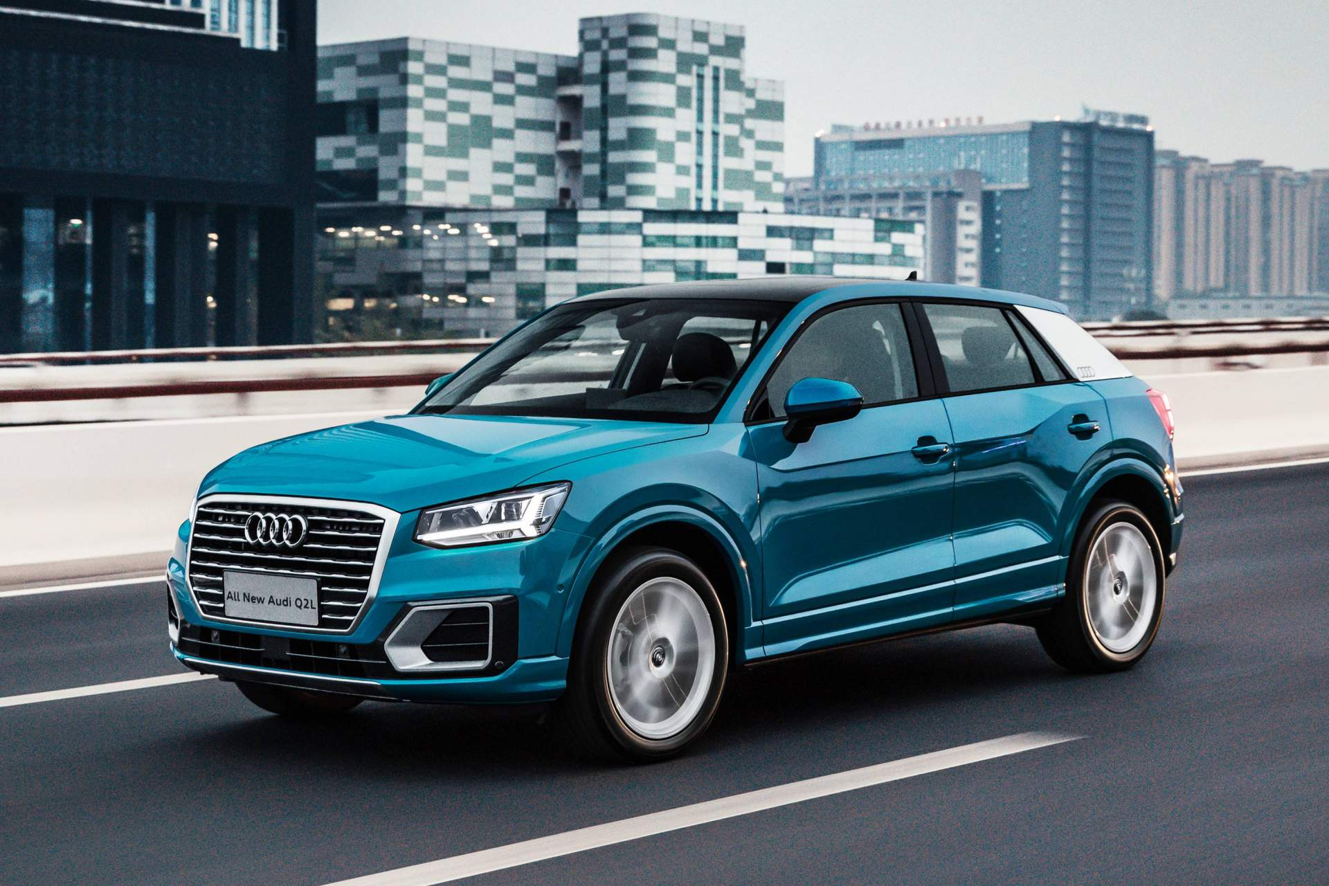 audi q2 l goes official in china autoevolution. Black Bedroom Furniture Sets. Home Design Ideas