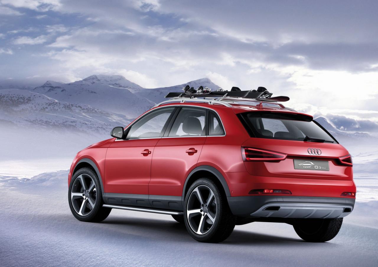 Audi Q3 Vail Concept Autoevolution