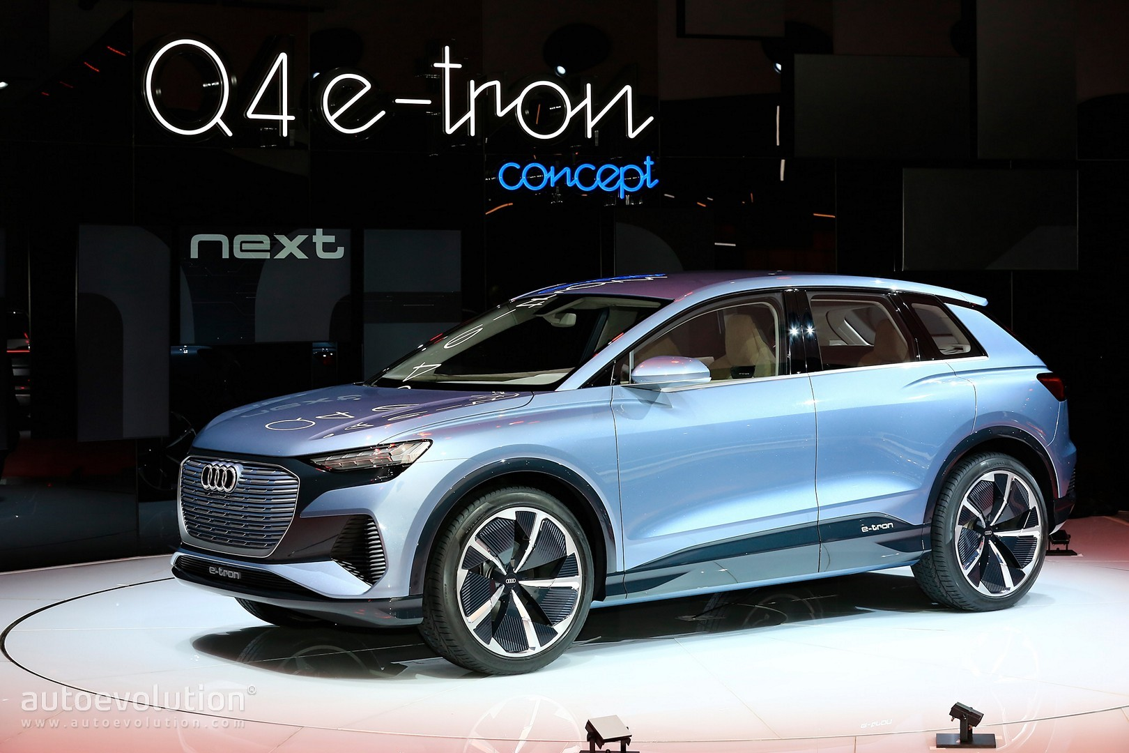 Audi Q4 e-tron Previews Future MEB Model, Is Not the Real ...