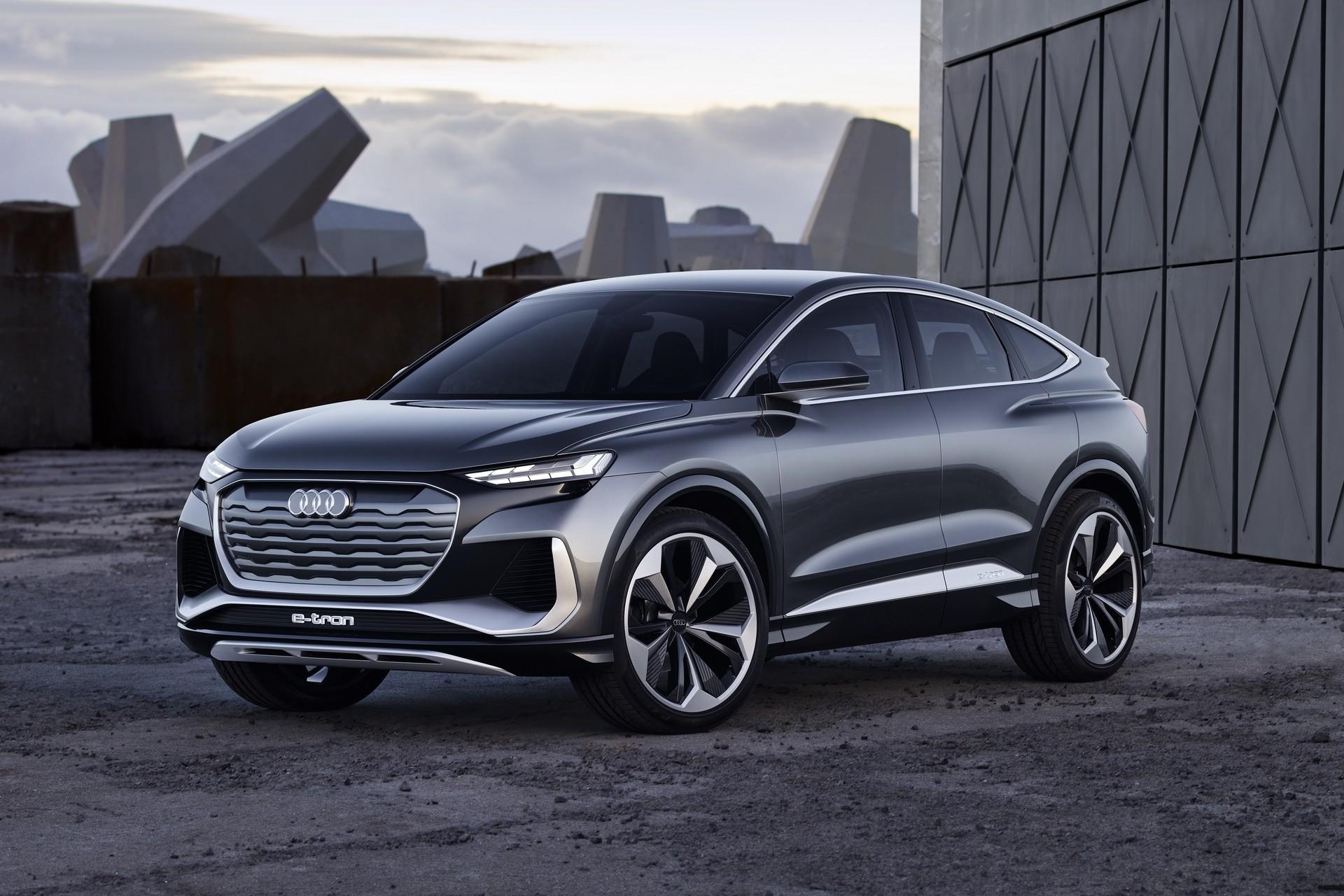 Audi Q4 Sportback e-tron Concept Is One Sexy Electric ...