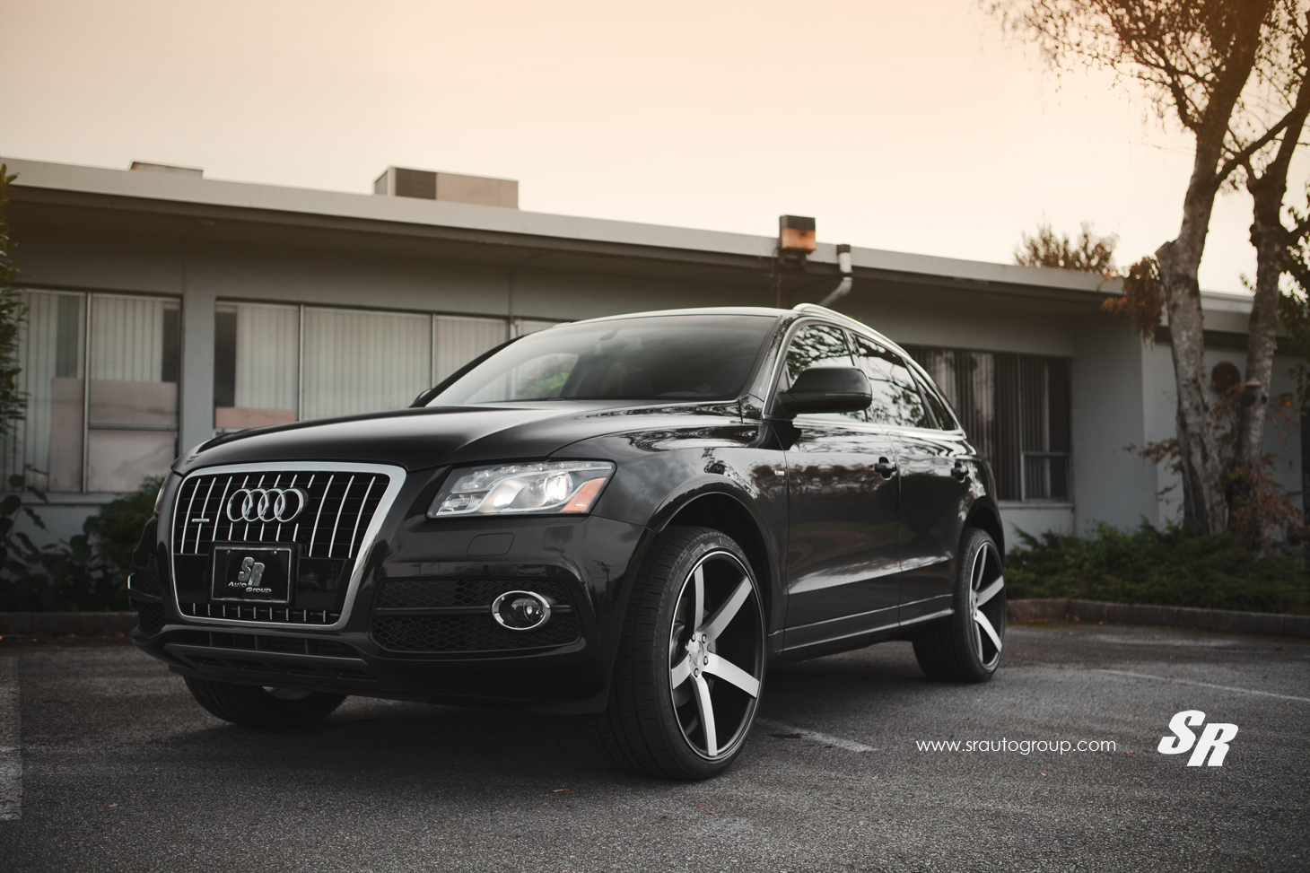 Audi Q5 On 22 Inch Vossen Wheels Autoevolution