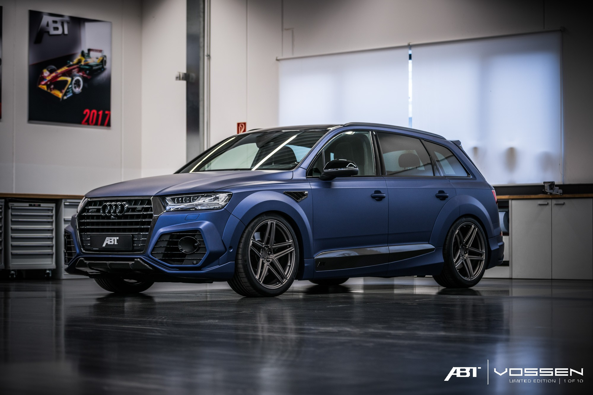 2018 Black Golf R >> Audi Q7 and SQ7 Get ABT Widebody Kit and Vossen Forged Wheels - autoevolution