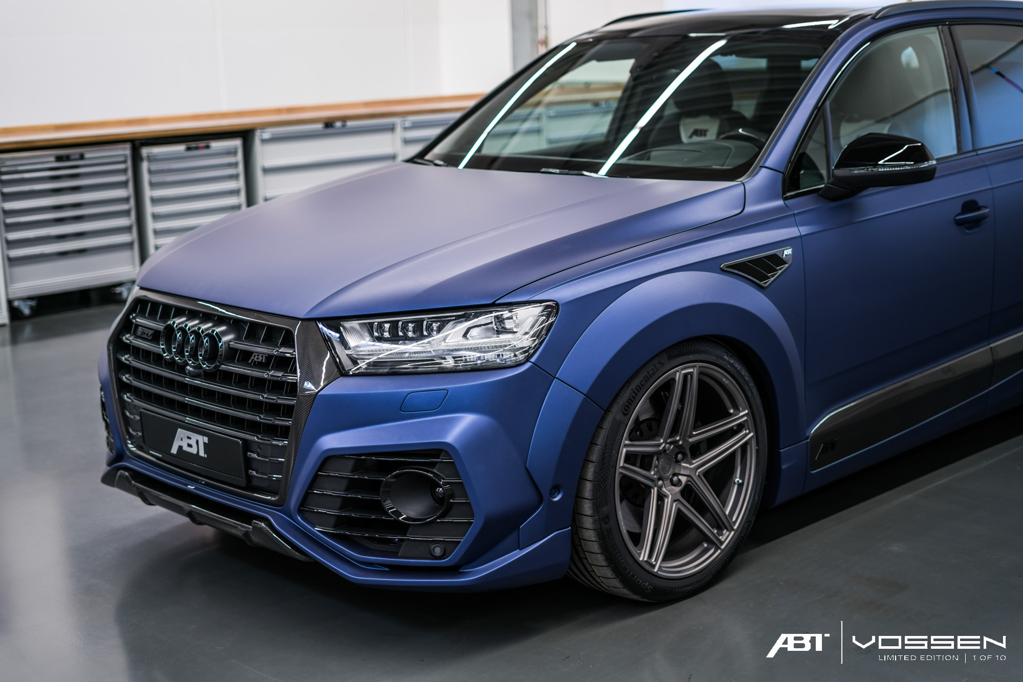 Audi Q7 and SQ7 Get ABT Widebody Kit and Vossen Forged Wheels - autoevolution