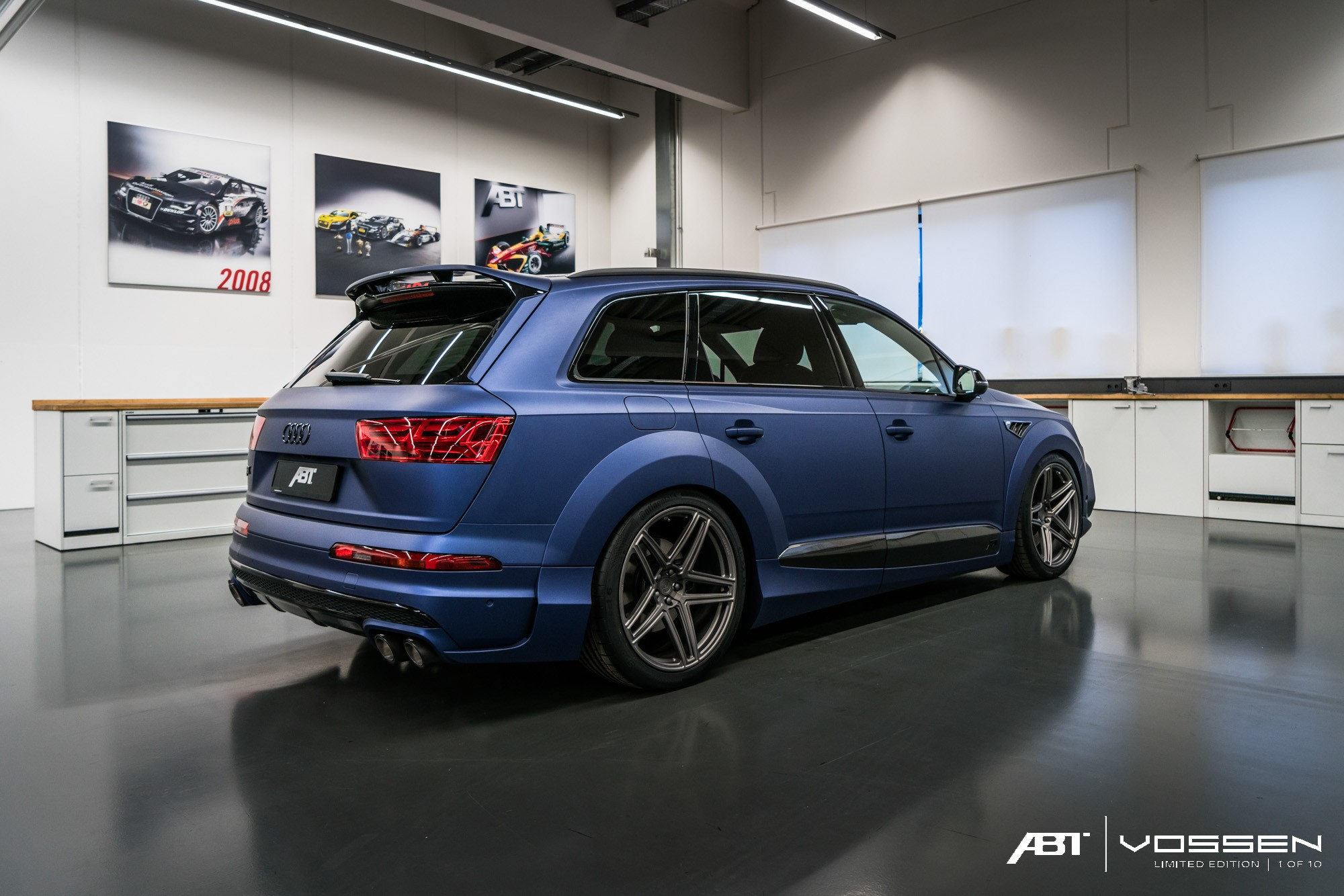 Audi Q And Sq Get Abt Widebody Kit And Vossen Forged Wheels