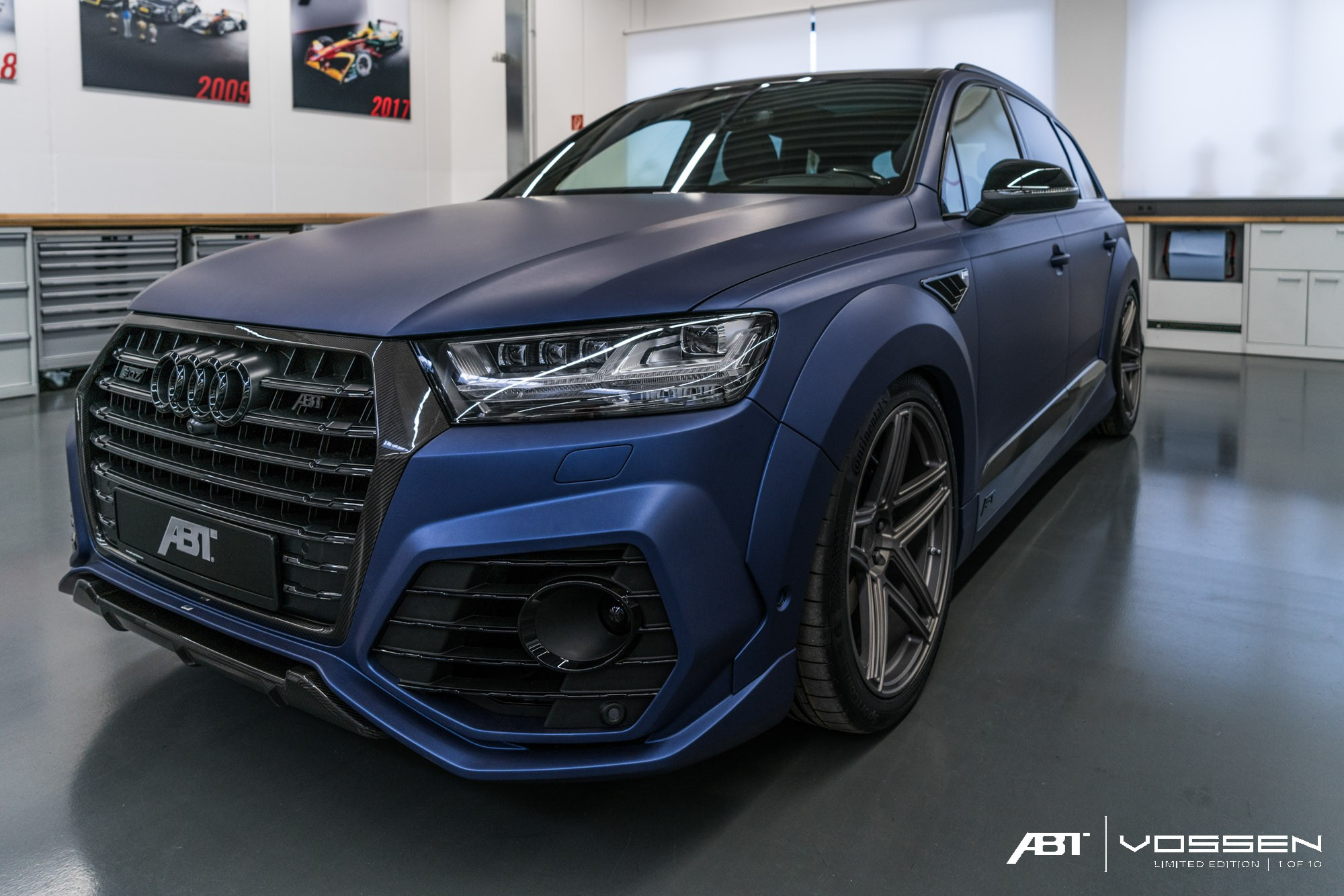 audi q7 and sq7 get abt widebody kit and vossen forged. Black Bedroom Furniture Sets. Home Design Ideas