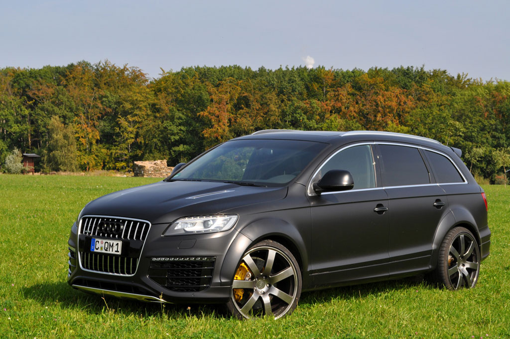 audi q7 gets tuned by enco autoevolution. Black Bedroom Furniture Sets. Home Design Ideas