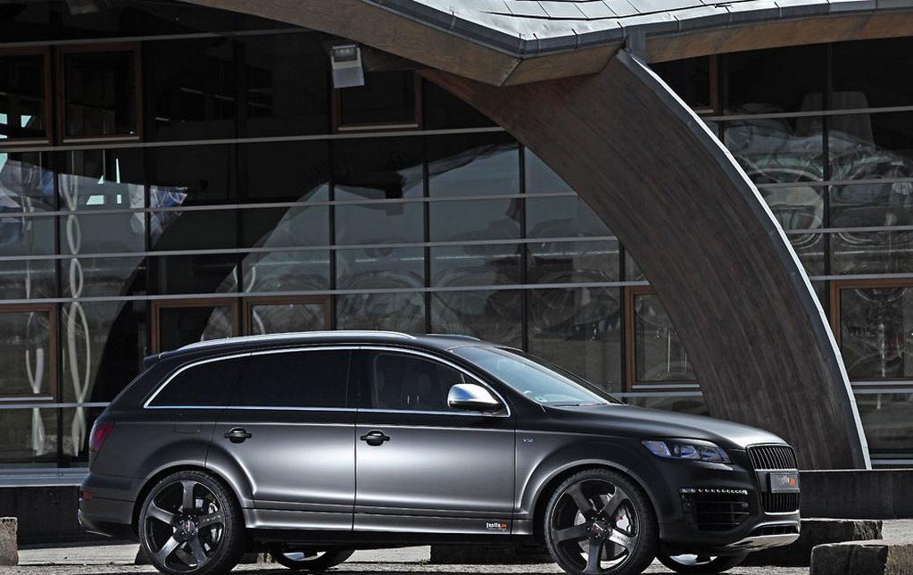 Audi Q7 V12 Tdi With 600 Hp Matte Black Wrap By Fostla