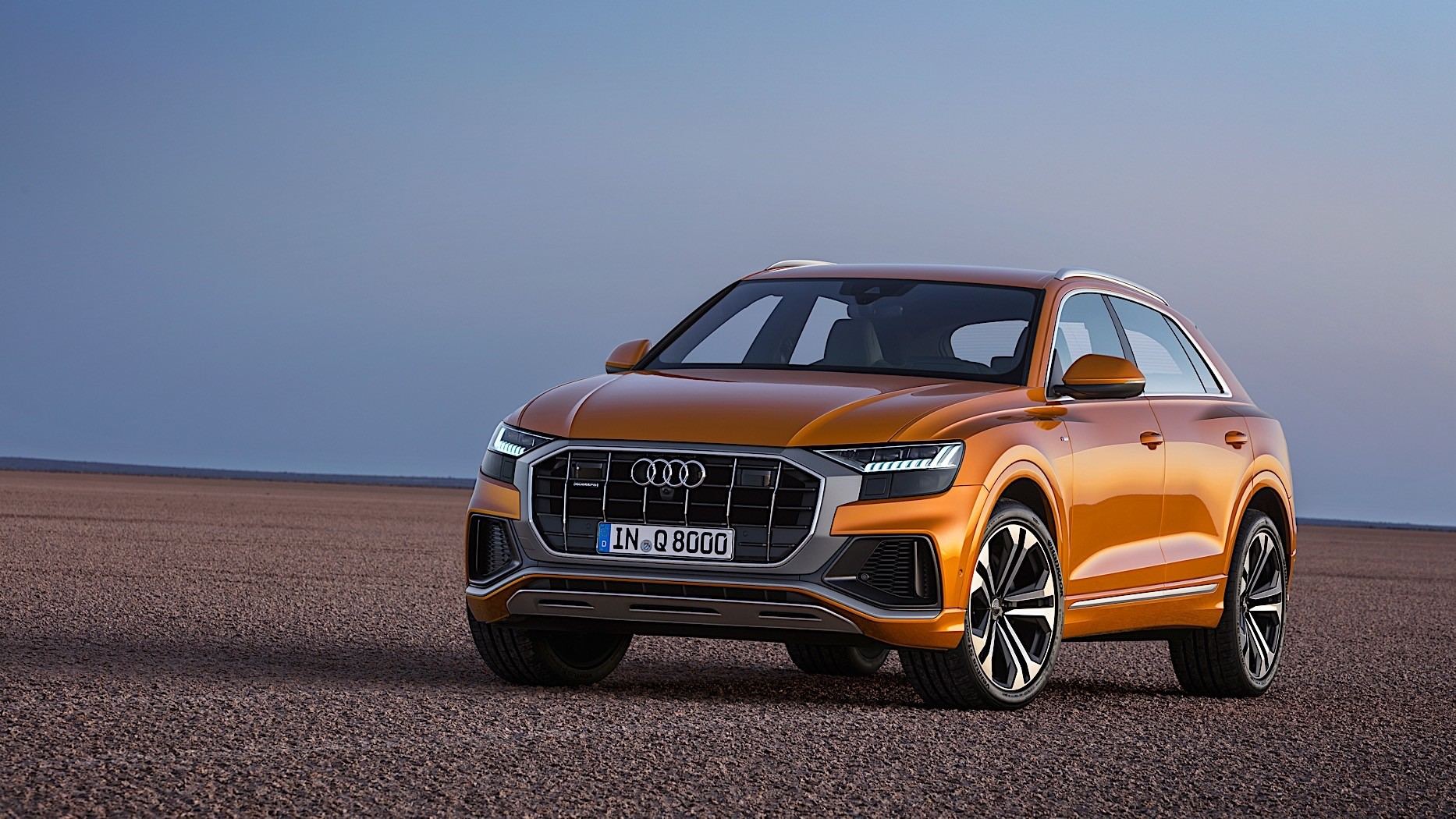 Audi Q8 Is Sporty And Imposing Says First Review Autoevolution
