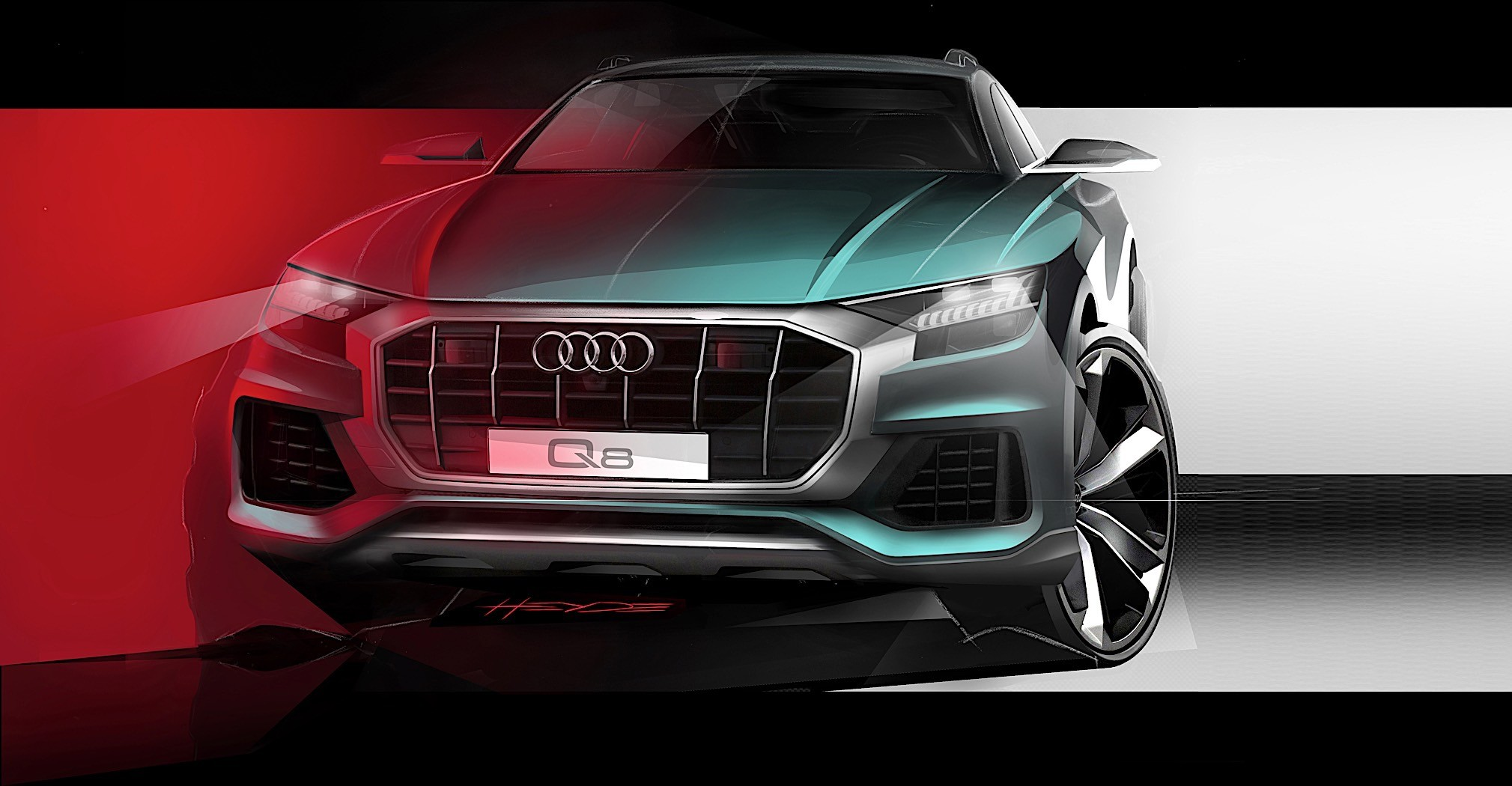 Audi Q8 Revealed With Mild Hybrid And Autonomous Garage Parking