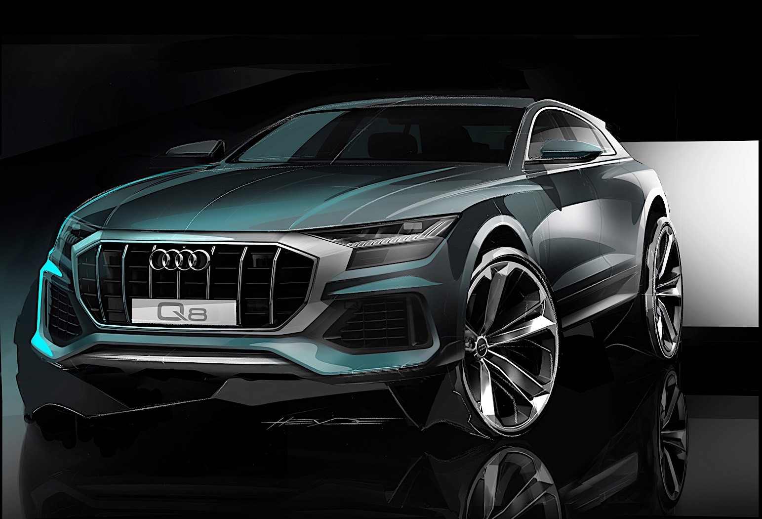 Audi Q8 Revealed With Mild Hybrid And Autonomous Garage