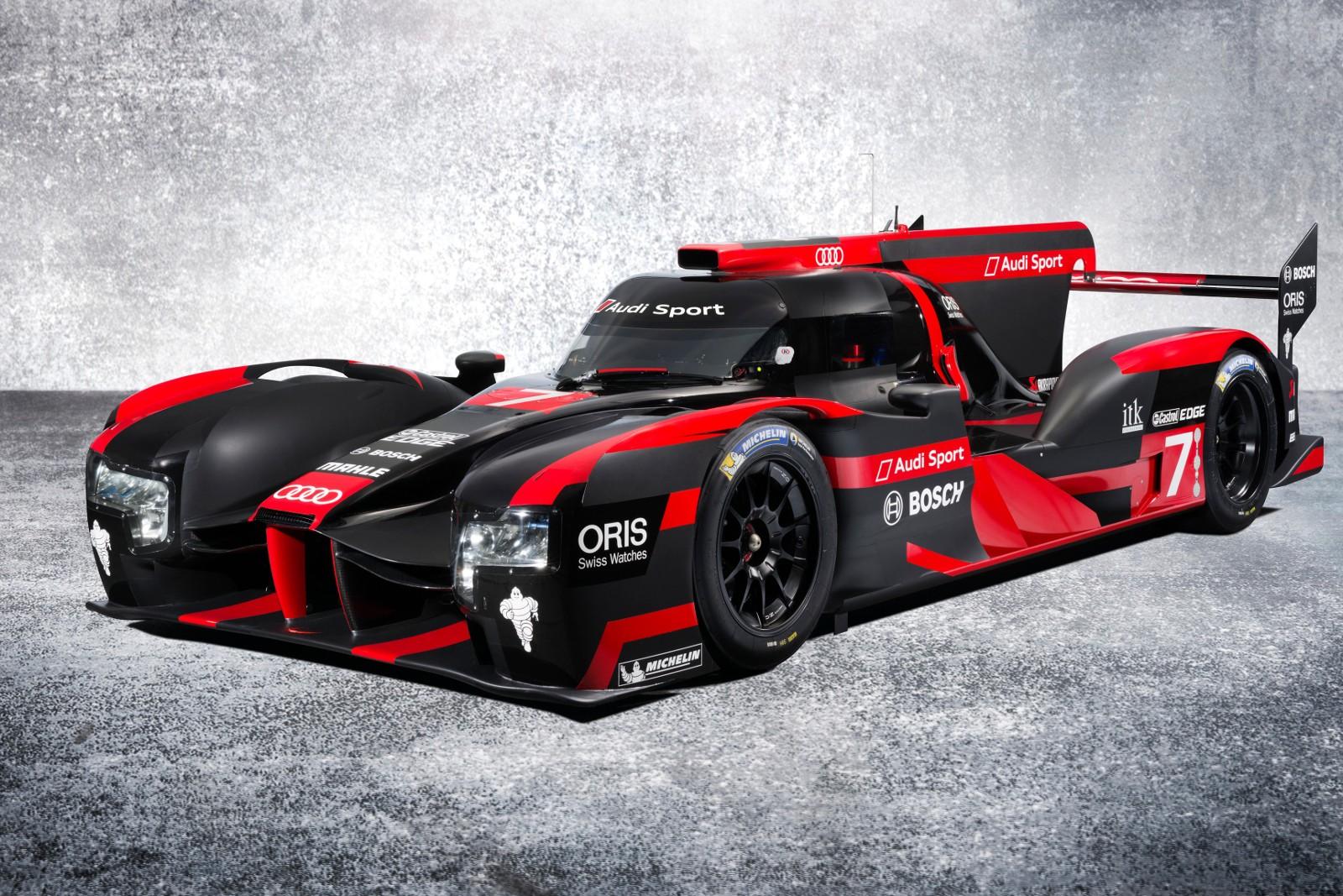 2016 Audi R18 E Tron Quattro Le Mans Prototype Is Against