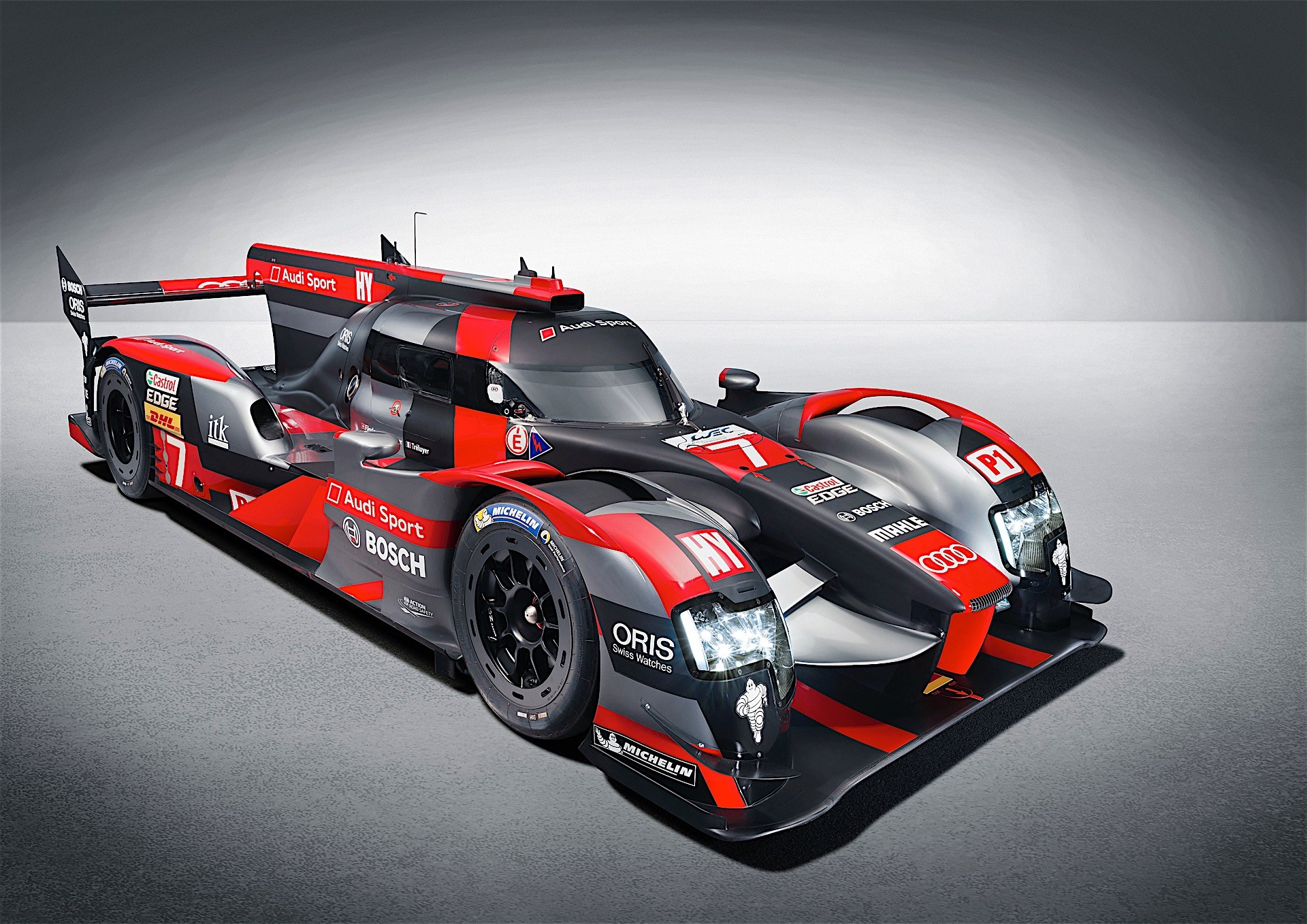 2016 audi r18 le mans racer testing at sebring autoevolution. Black Bedroom Furniture Sets. Home Design Ideas
