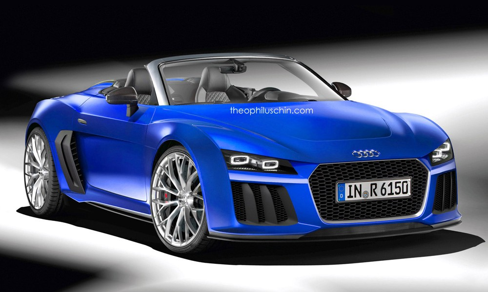audi r6 spyder rendering has a future retro look. Black Bedroom Furniture Sets. Home Design Ideas
