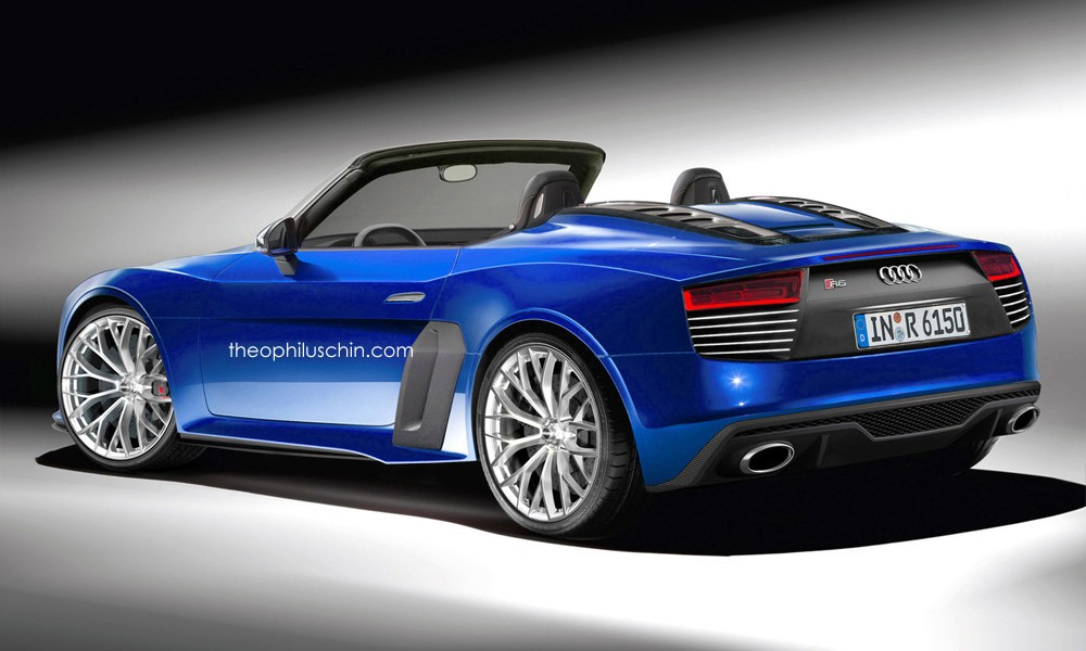 Audi R6 Spyder Rendering Has A Future Retro Look