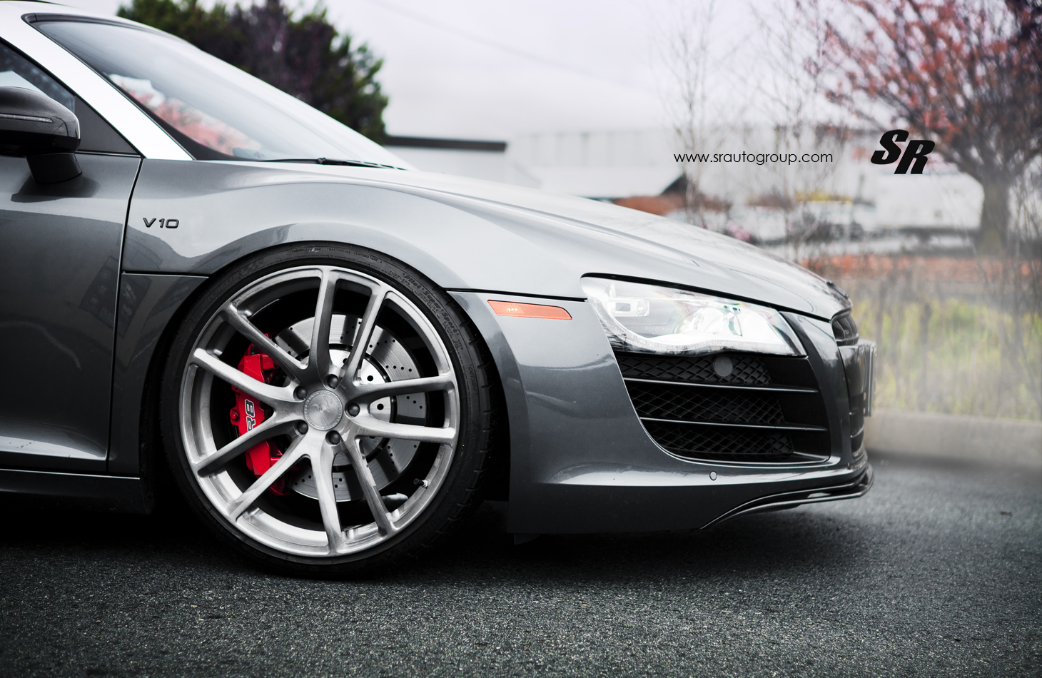 Audi R8 Gets Nailed To 20 Inch Modulare Wheels Autoevolution