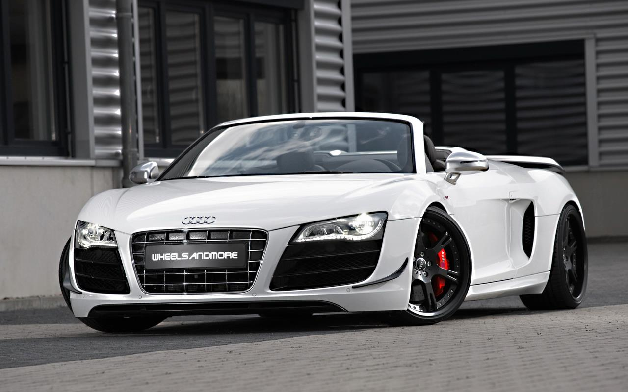 Audi R8 GT Spyder Touched by Wheelsandmore - autoevolution