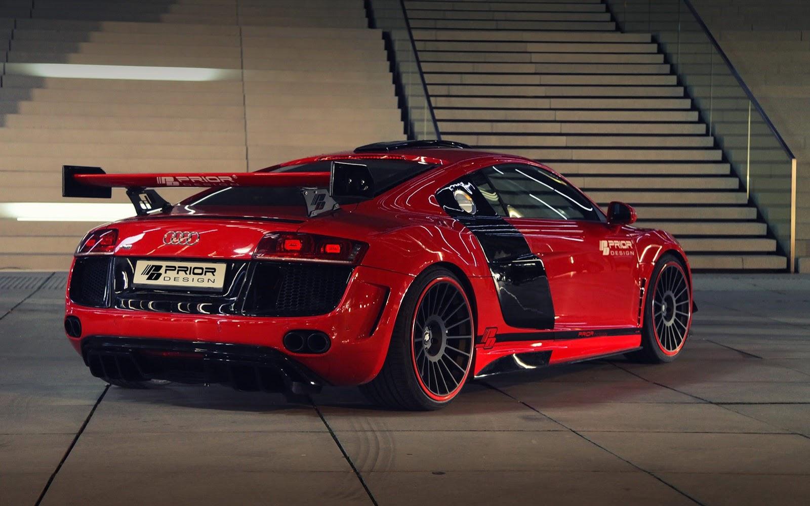 Audi R8 Gt650 By Prior Design Autoevolution