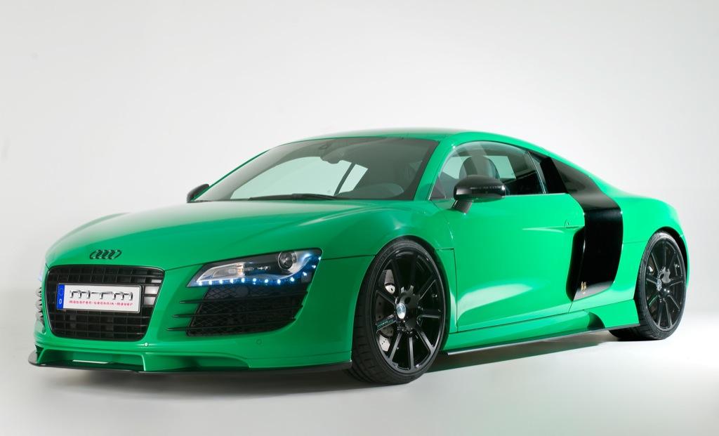 Green Audi R8 Mtm Style Autoevolution