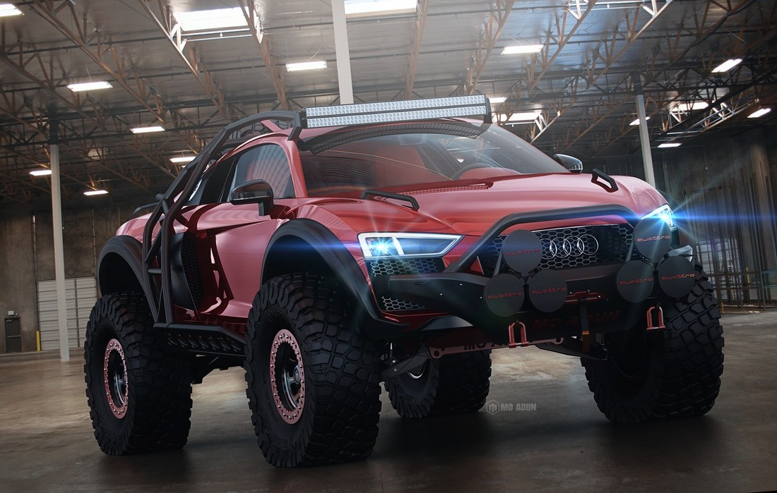 Audi R8 Off-Roader Rendering Looks Set to Conquer the Baja ...