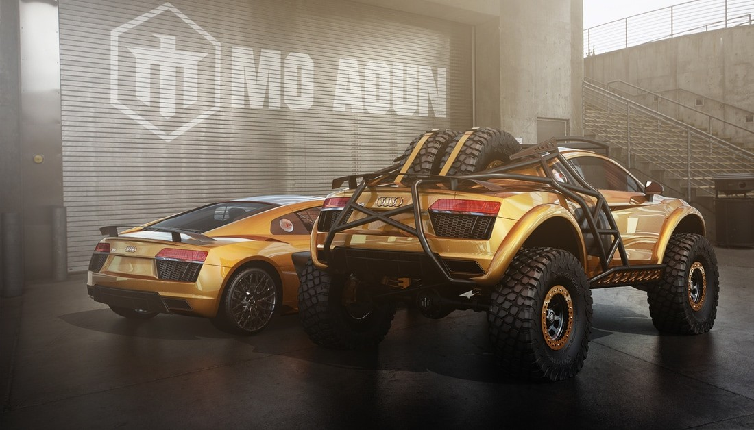 Audi R8 Off Roader Rendering Looks Set To Conquer The Baja