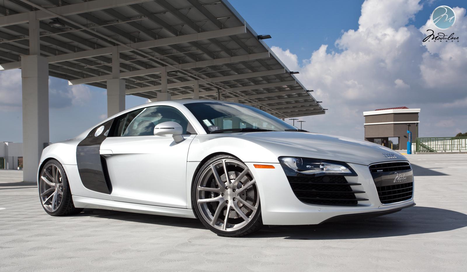 Audi R8 On Modulare Wheels Autoevolution