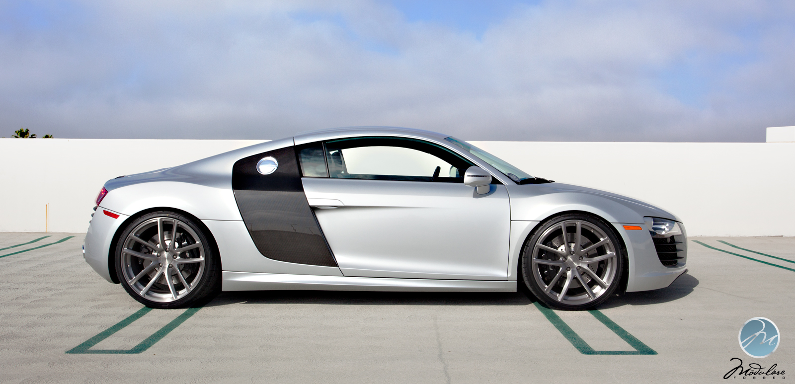 Audi R8 On Modulare Wheels Autoevolution