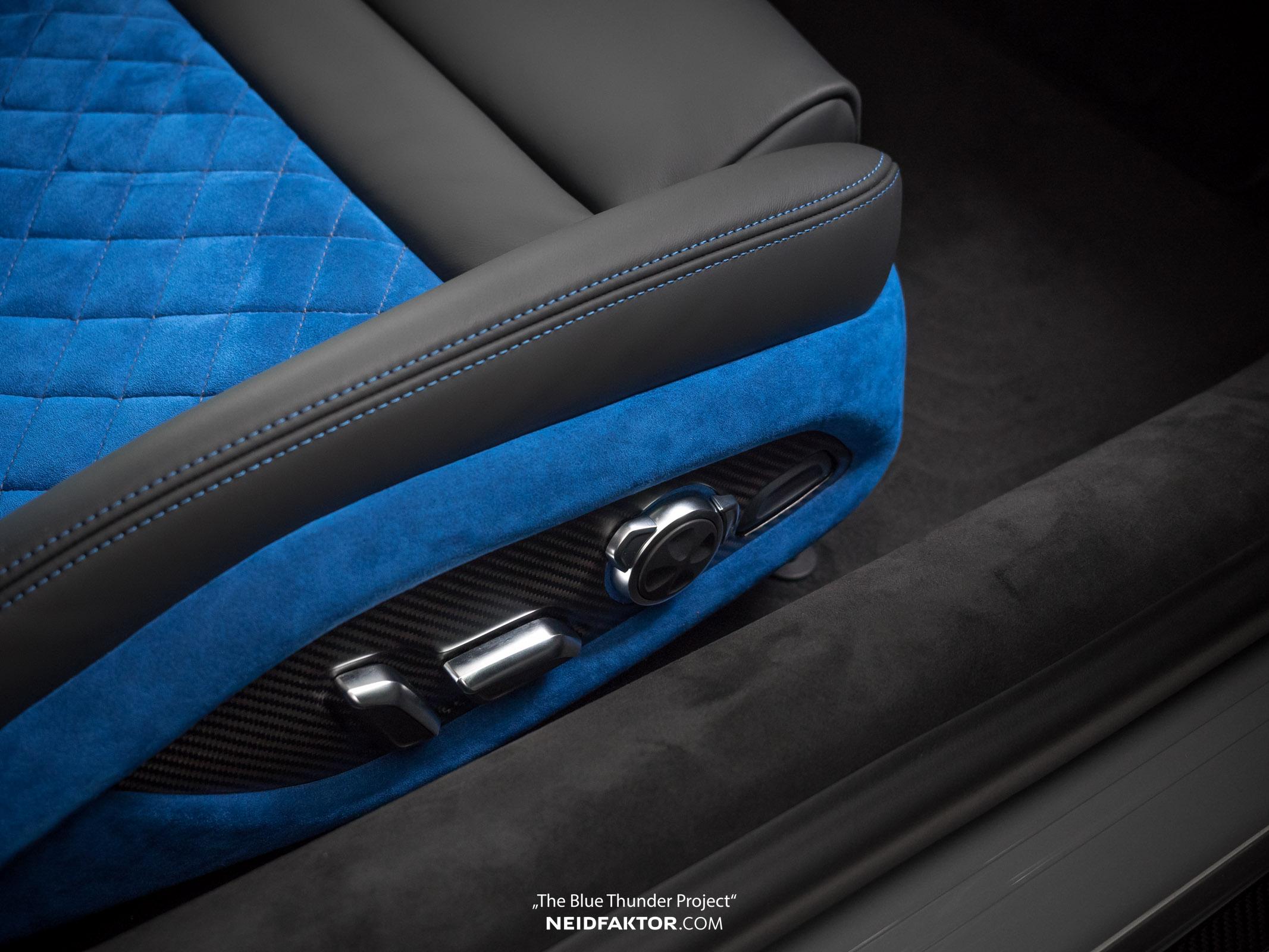 Audi R8 V10 Plus Blue Thunder Interior By Neidfaktor Looks Like