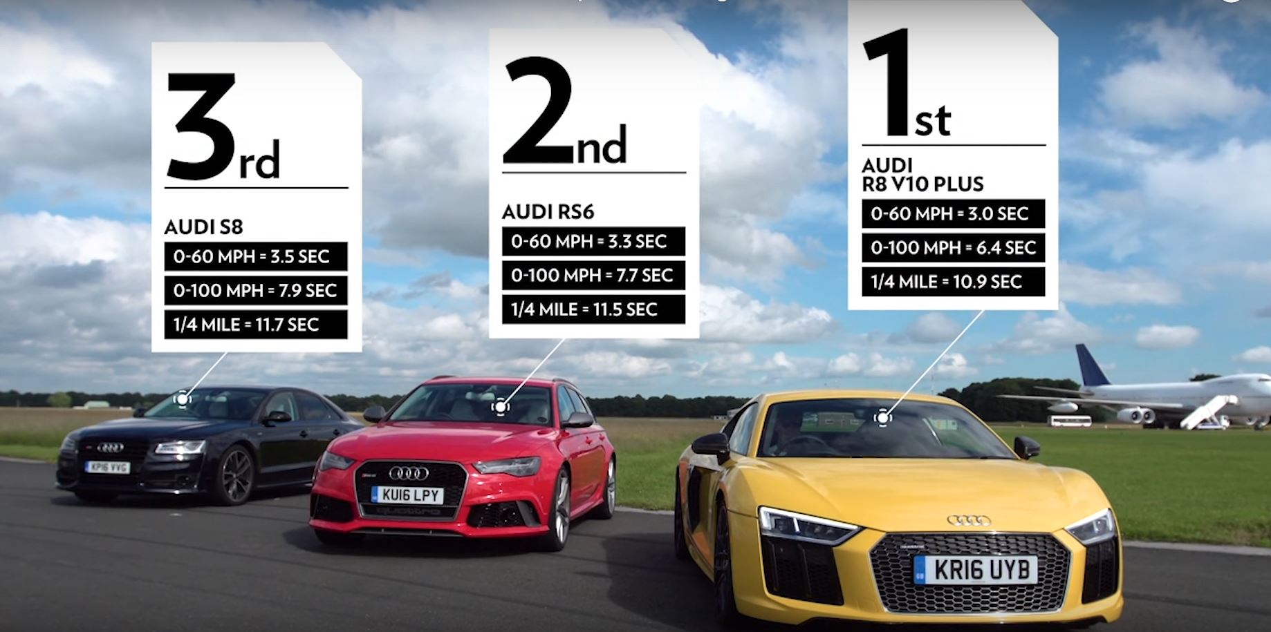 Audi R8 V10 Plus Vs Rs6 S8 The Lord Of Rings