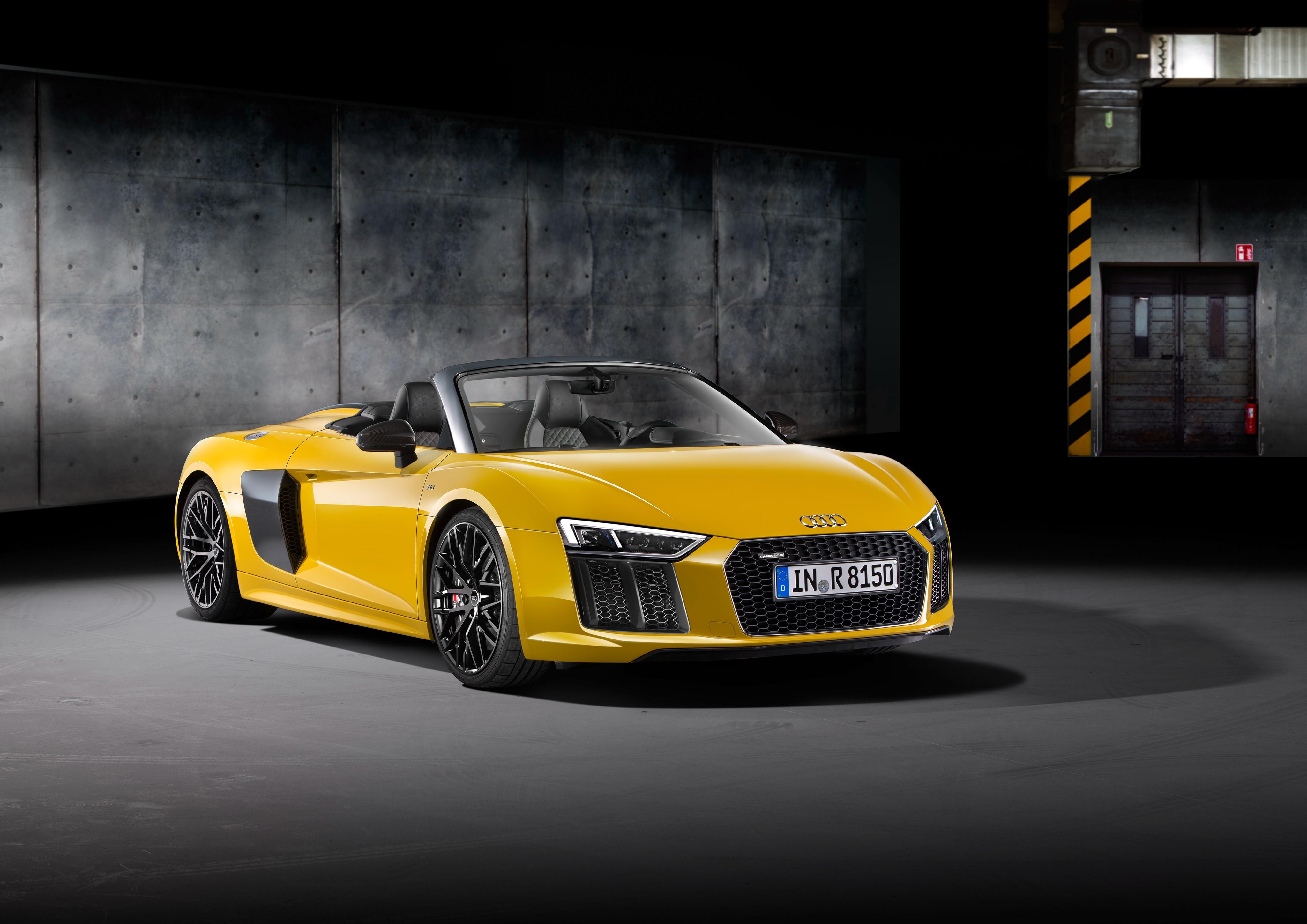 Audi R Spyder Price Set From In Germany Autoevolution - Audi r8 v10 price