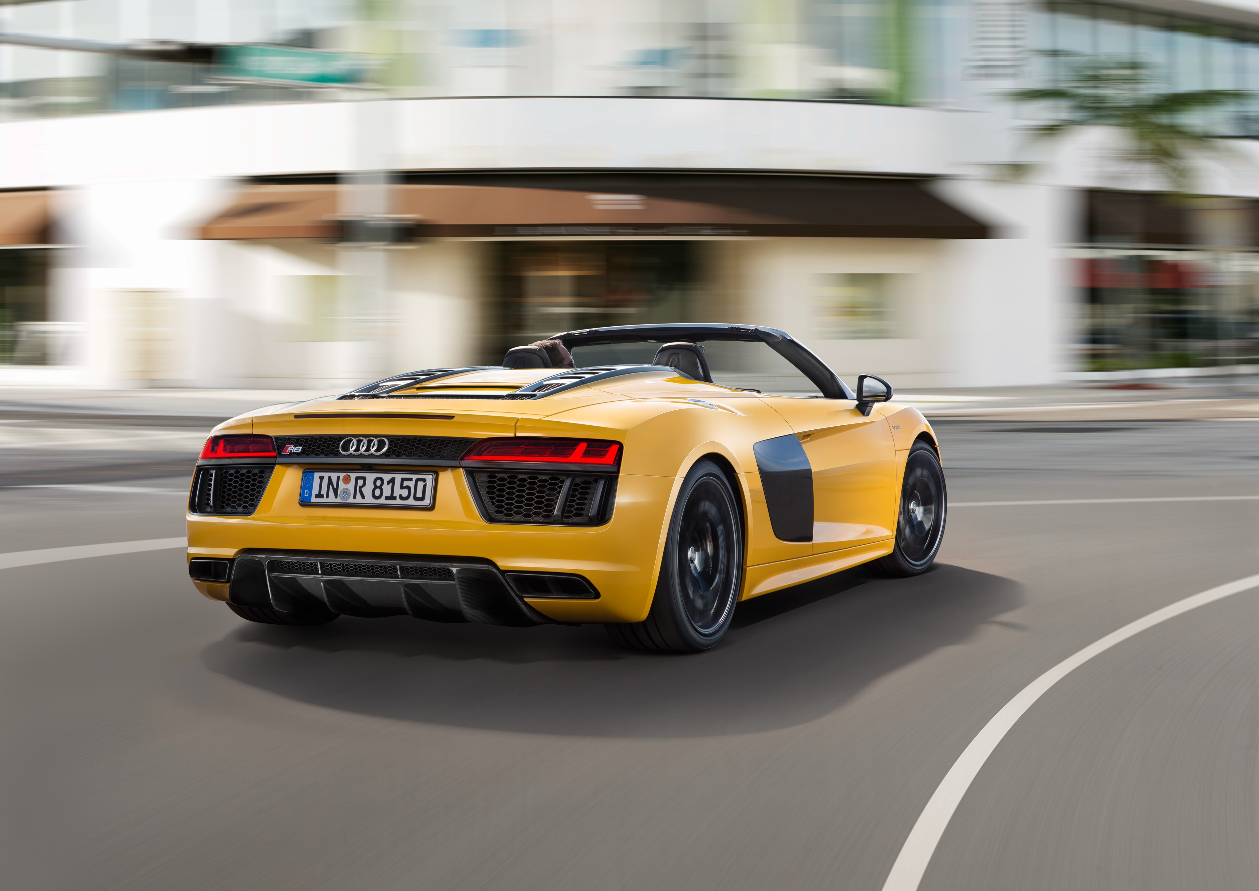 2017 Audi R8 Spyder Price Set From €179,000 In Germany