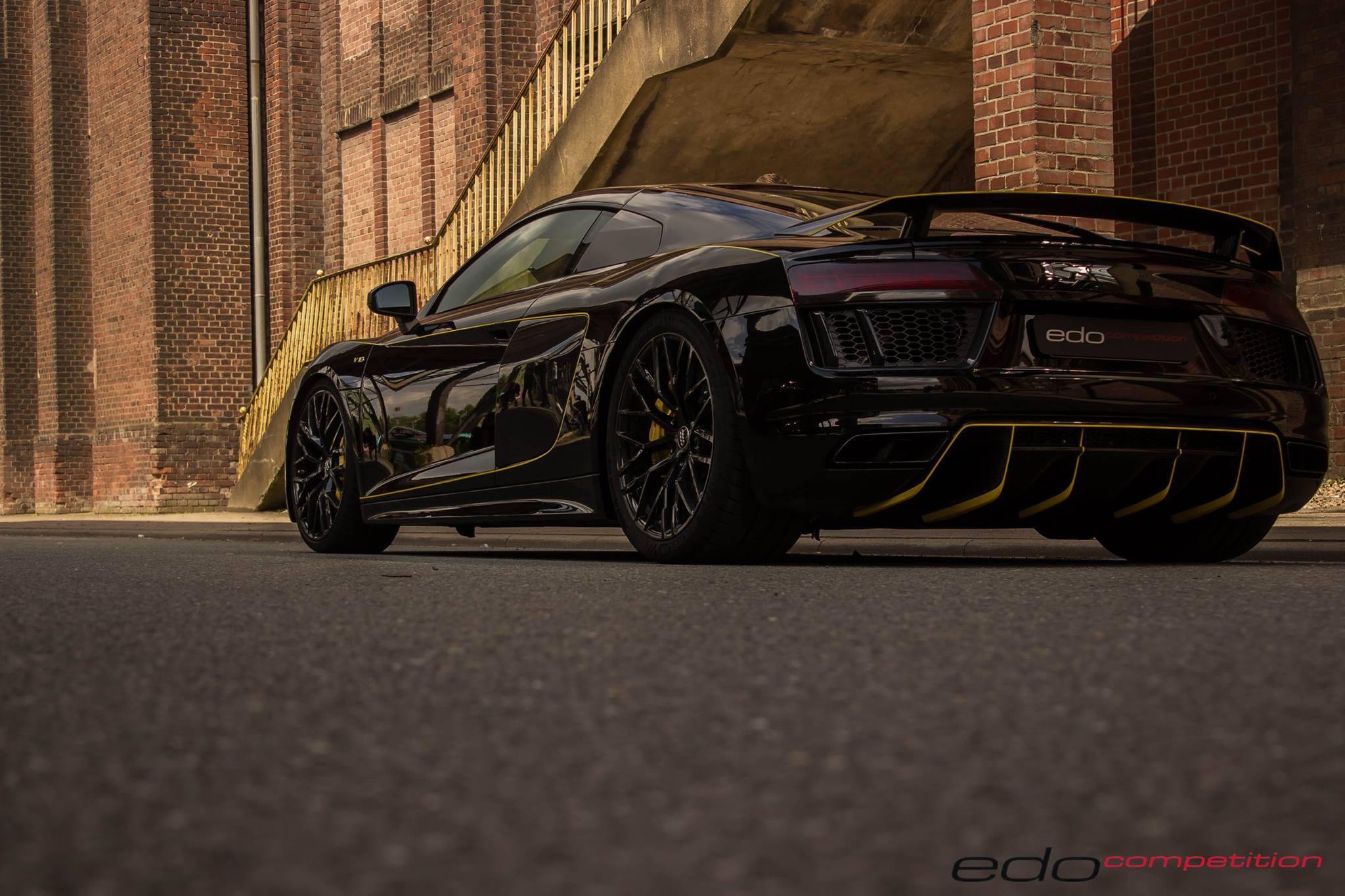 Audi R8 V10 Tuned By Edo Looks Like The Lamborghini Centenario Autoevolution