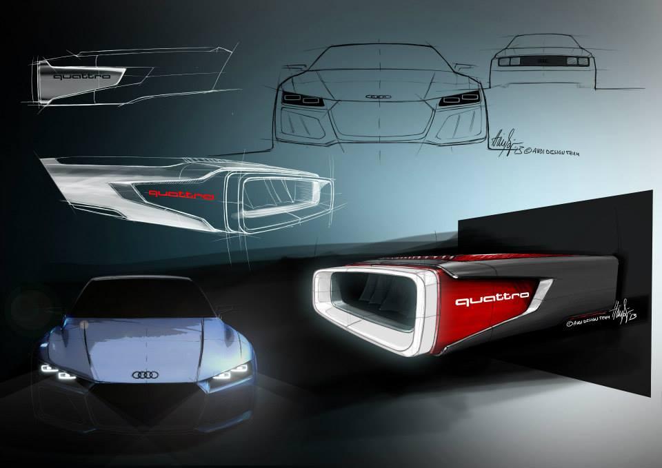 Audi Reveals New Quattro Concept In Design Sketches