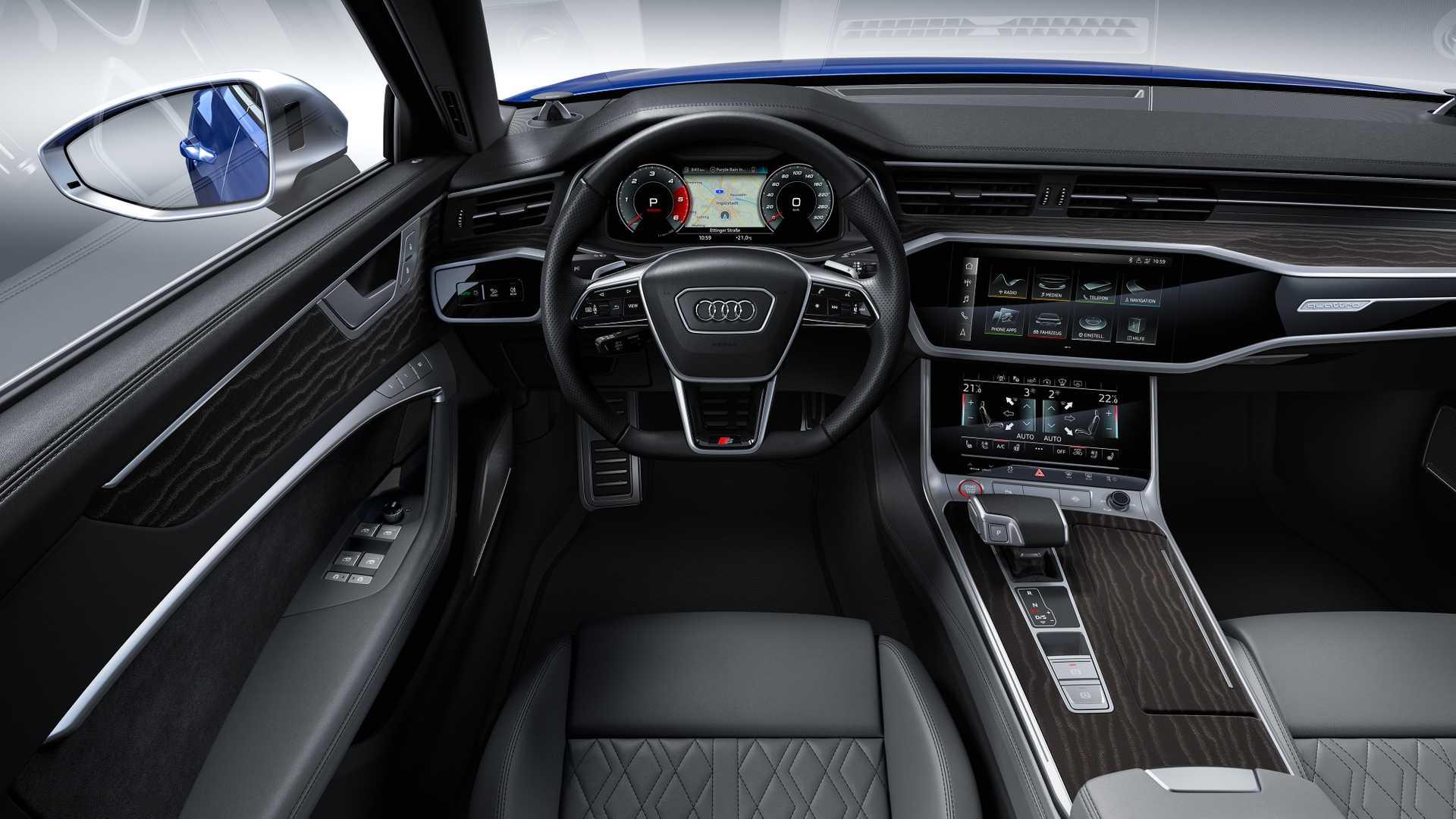 Audi Reveals S6 Sedan S6 Avant S7 Sportback With 3 0 Tdi