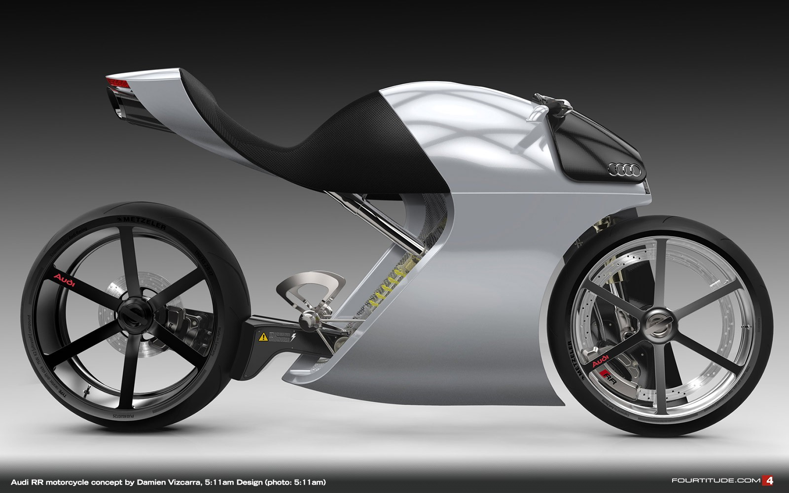 Audi Rr Concept Bike Is A Glimpse Into The Future Autoevolution