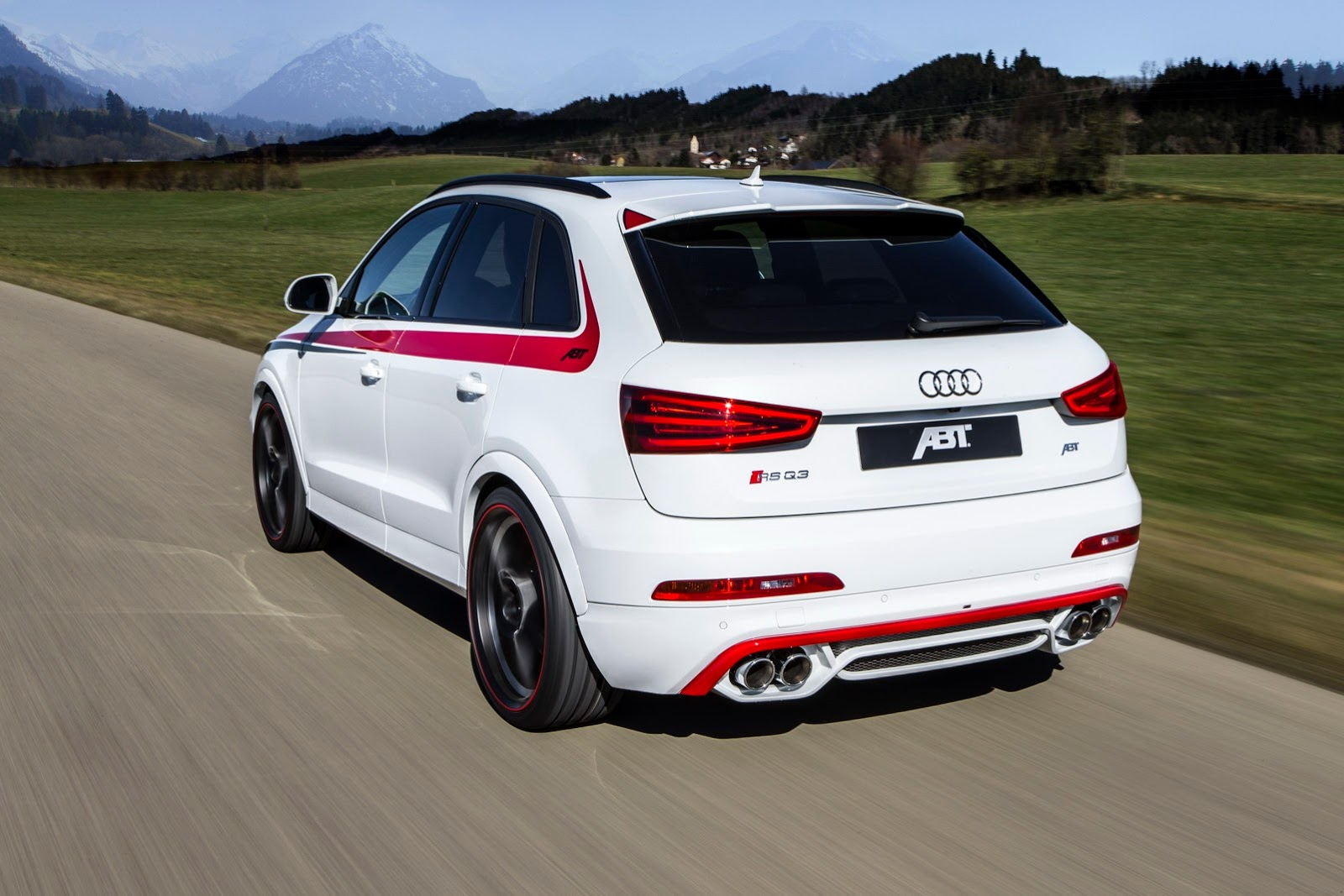 Audi RS Q3 Gets 410 HP From ABT Is Still Ugly Autoevolution