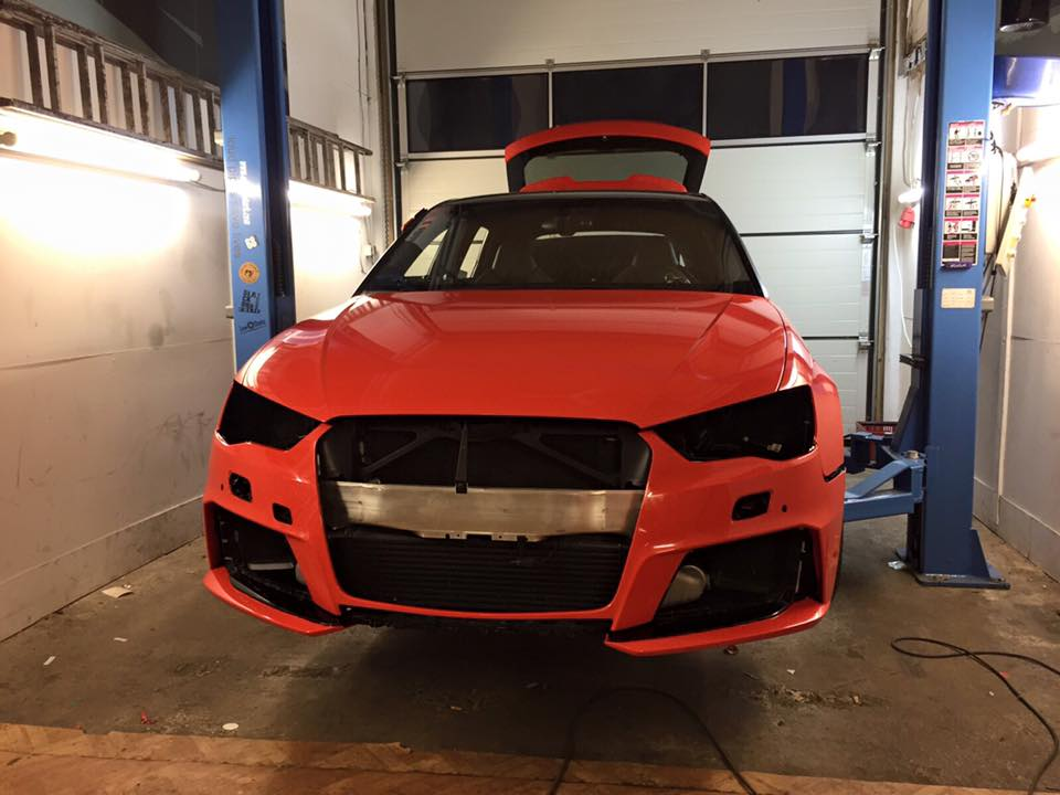 Audi RS3 8V Tuning: Wide Body Kit and Lowered Suspension by Gepfeffert ...