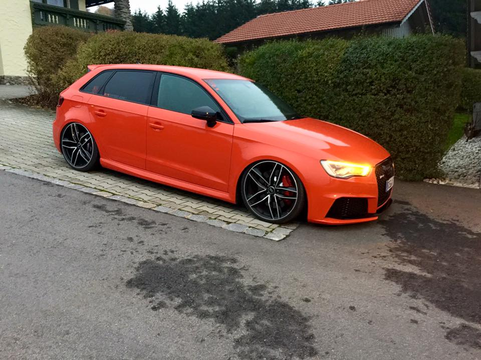 Audi a3 big turbo 11