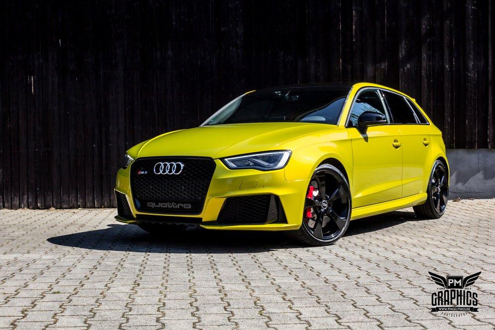 Audi Rs3 Interior By Neidfaktor Neon Yellow Alcantara