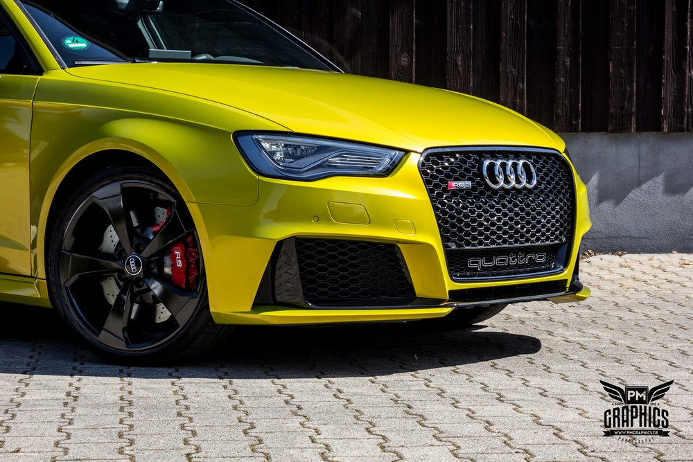 Audi Rs3 Interior By Neidfaktor Neon Yellow Alcantara And Carbon