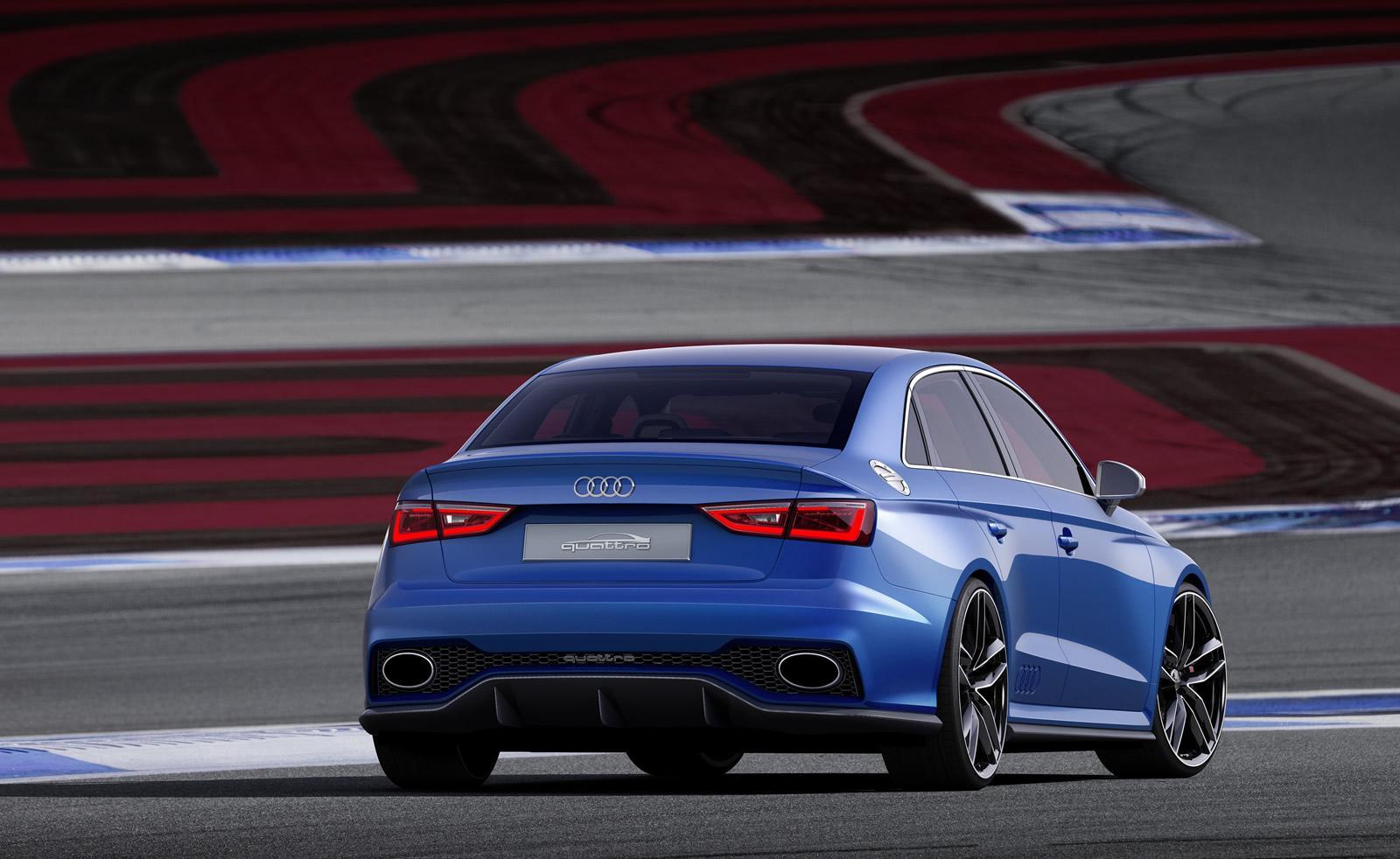 2016 Audi Q5 >> Audi RS3 Sedan Confirmed by Execs at Audi Summit in North ...