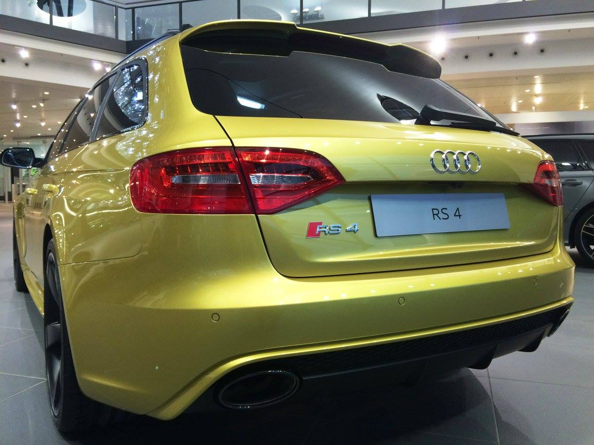 Audi RS Avant With Austin Yellow Paintjob Spotted Its A BMW M - Austin audi