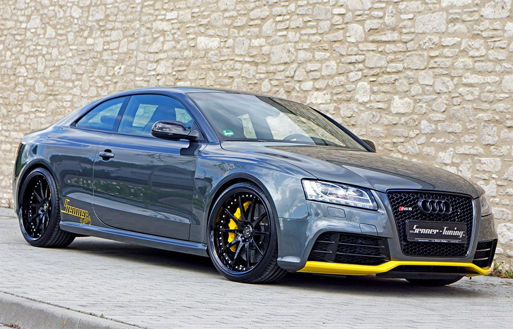 Audi Rs5 By Senner Tuned To 500 Hp Autoevolution