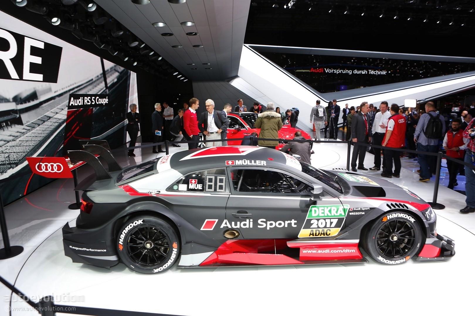 New Audi Rs5 Dtm Looks Racy In Geneva Prepares To Defend