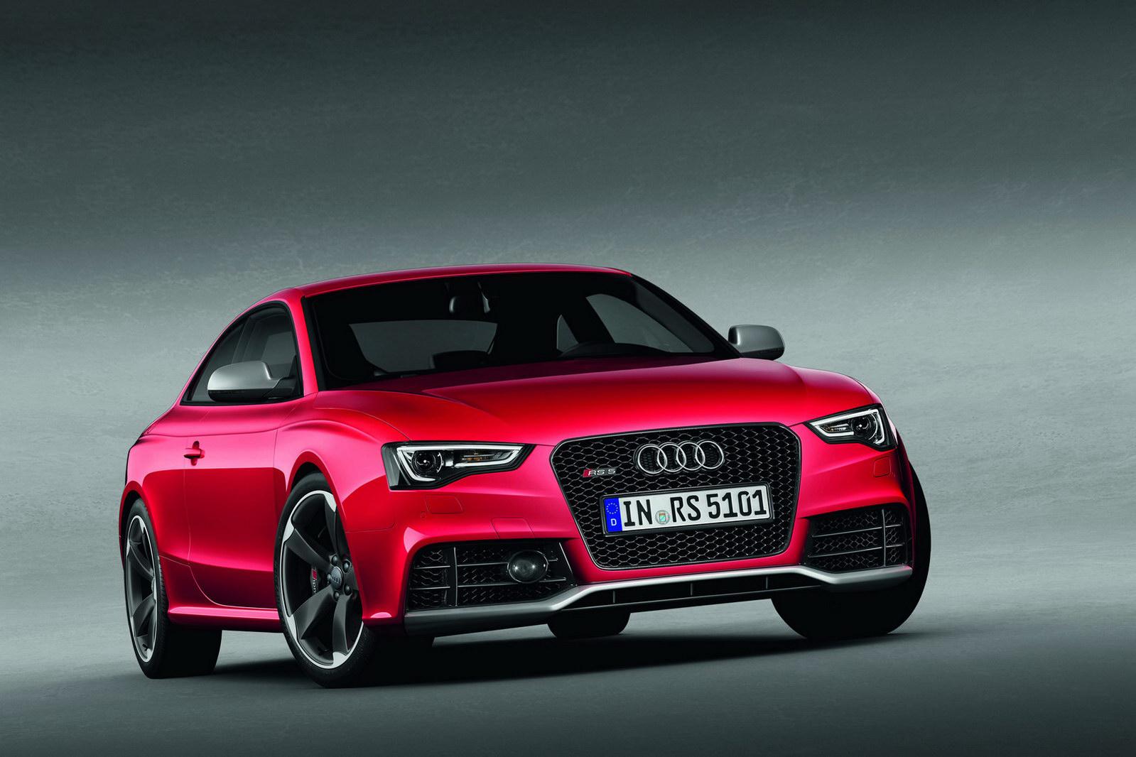 Audi A5 красная купе  № 3761381 бесплатно