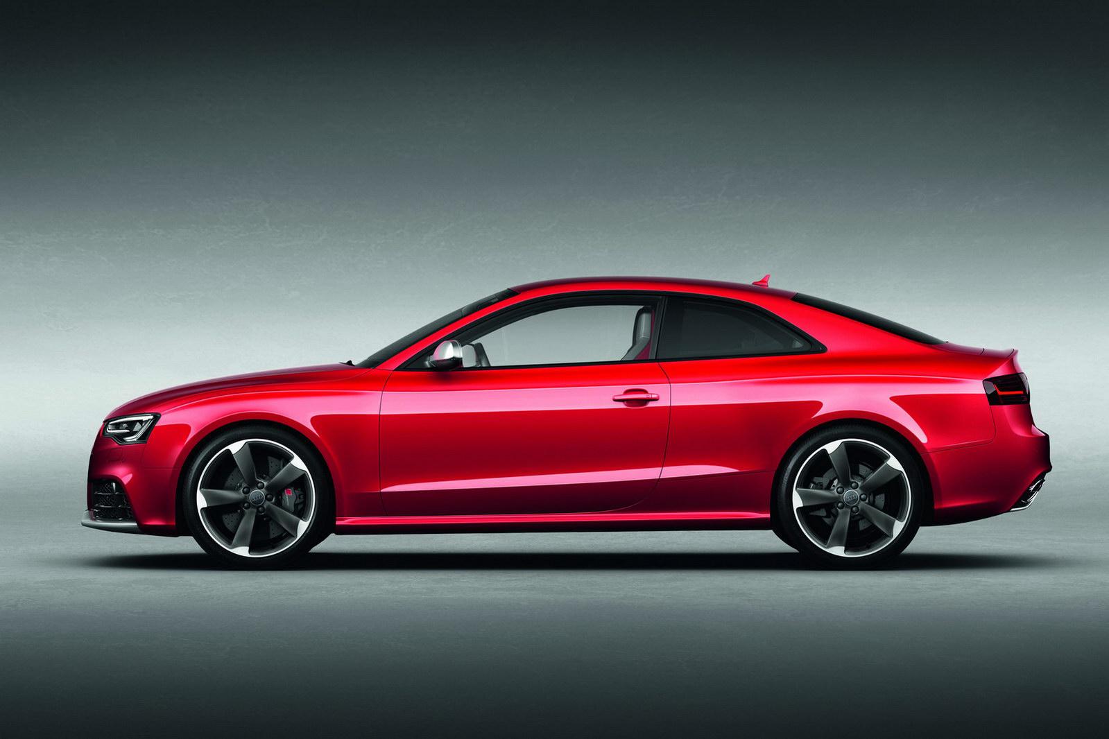Audi A5 красная купе  № 3761321 бесплатно