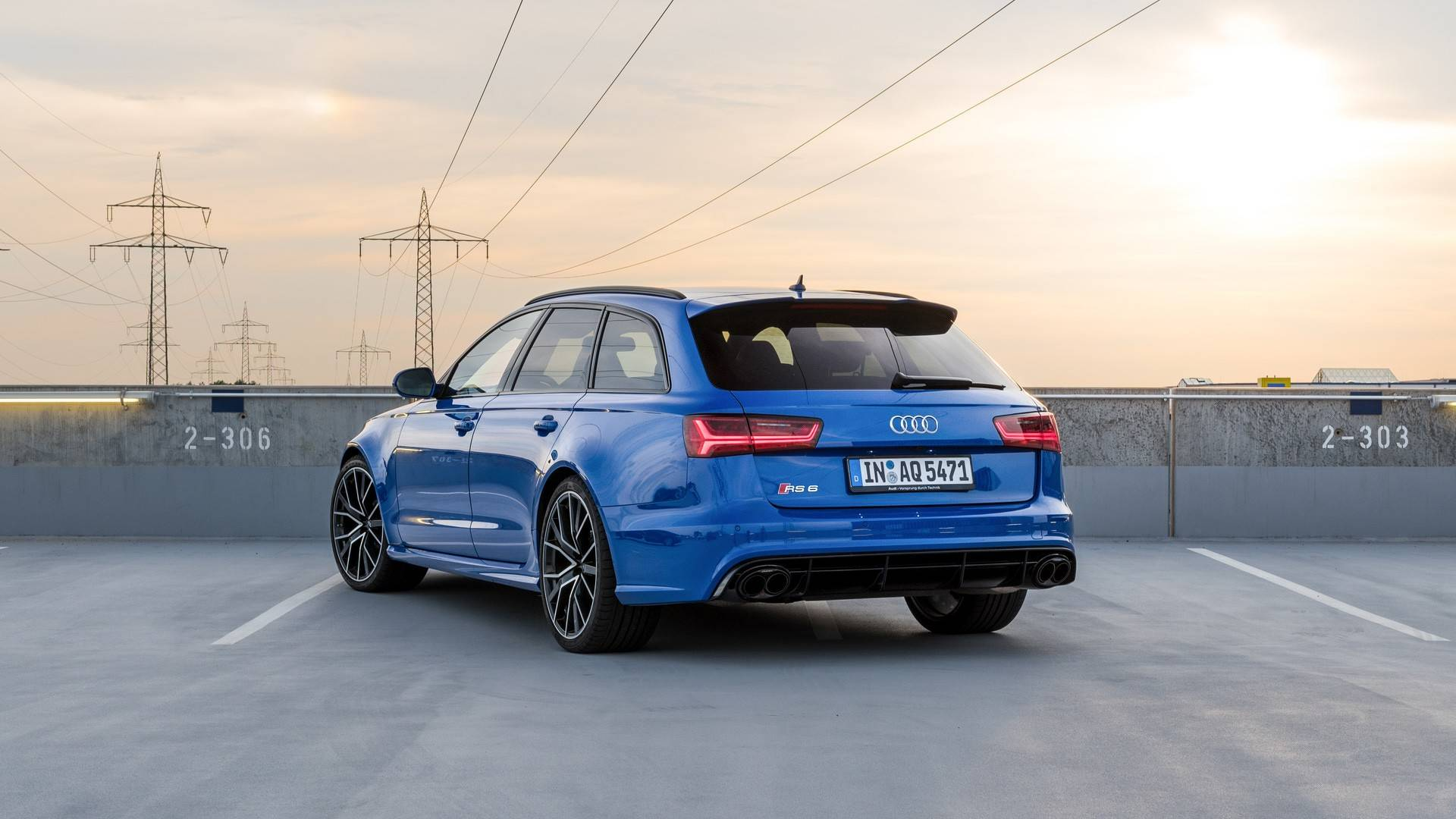 Audi Rs6 Avant Performance Nogaro Edition Combines 705