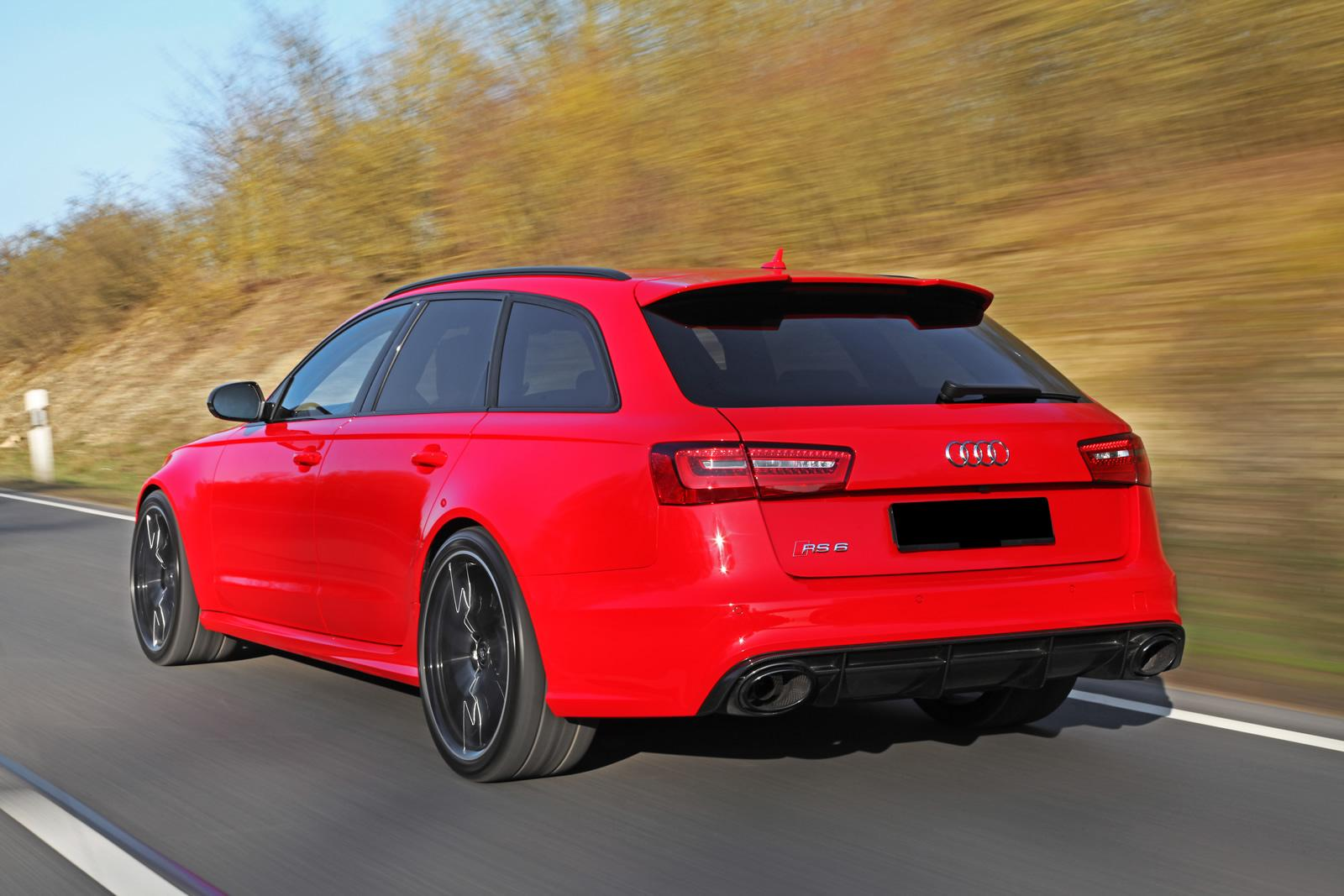 Audi Rs6 By Hperformance Is Red And It Has 700 Hp Autoevolution