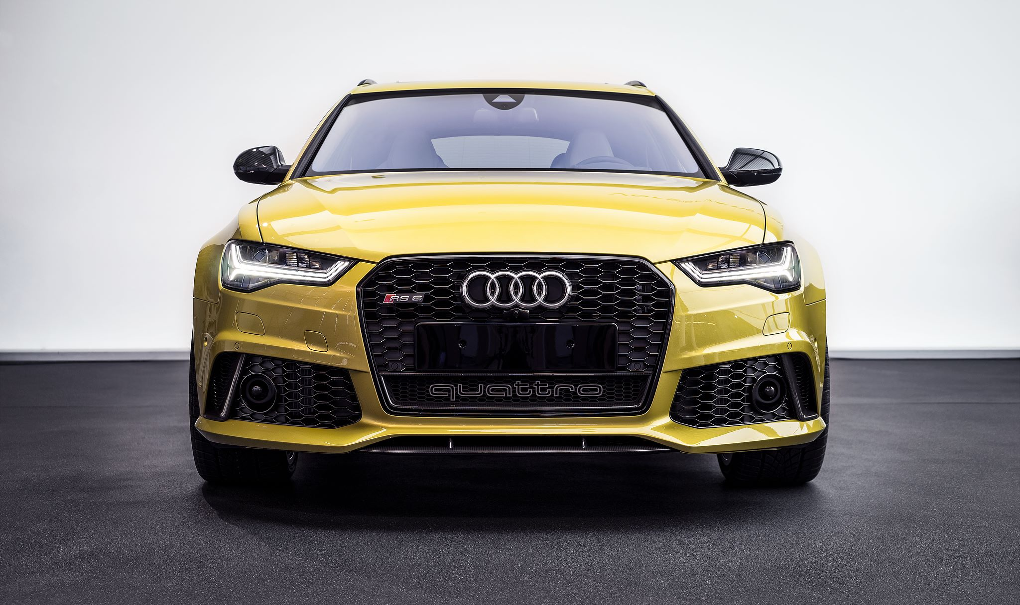 Audi RS6 in Austin Yellow Is Not the BMW M4 You Are ...