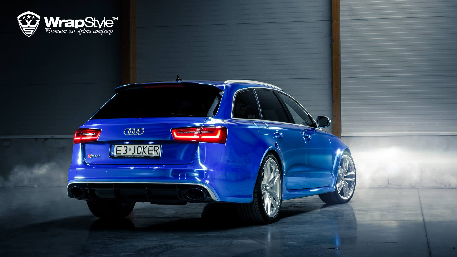 "Audi Rs Q5 >> Audi RS6 ""Joker"" Wrapped in Blue Chrome - autoevolution"
